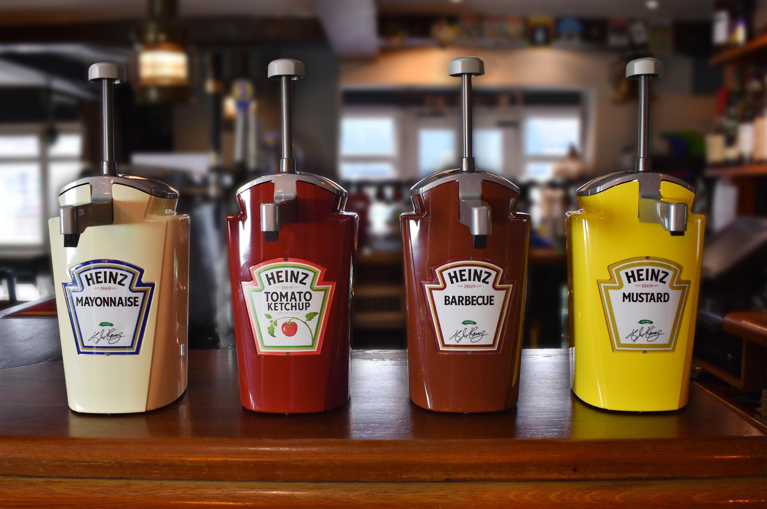 Heinz Pommes Frites Sauce Spenderbeutel 2500ml