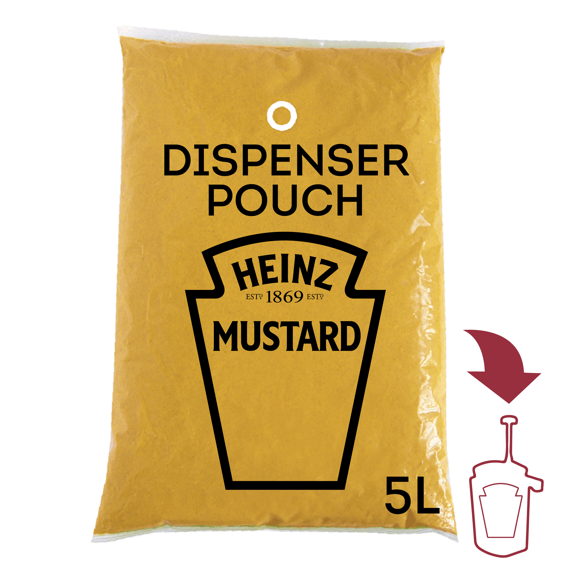 Musztarda Heinz 5L dyspenser image