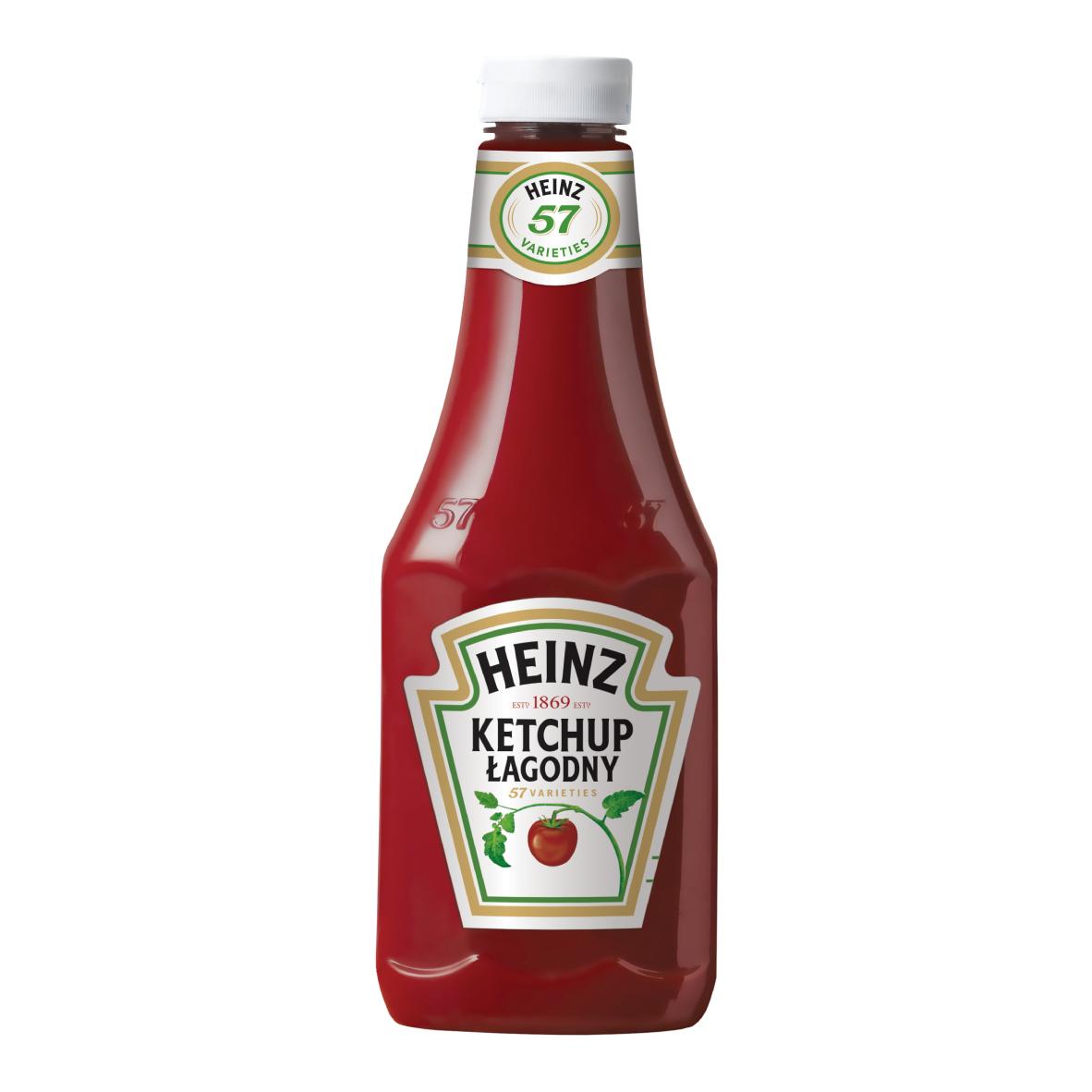 Ketchup Heinz 875ml plastikowa butelka duża image