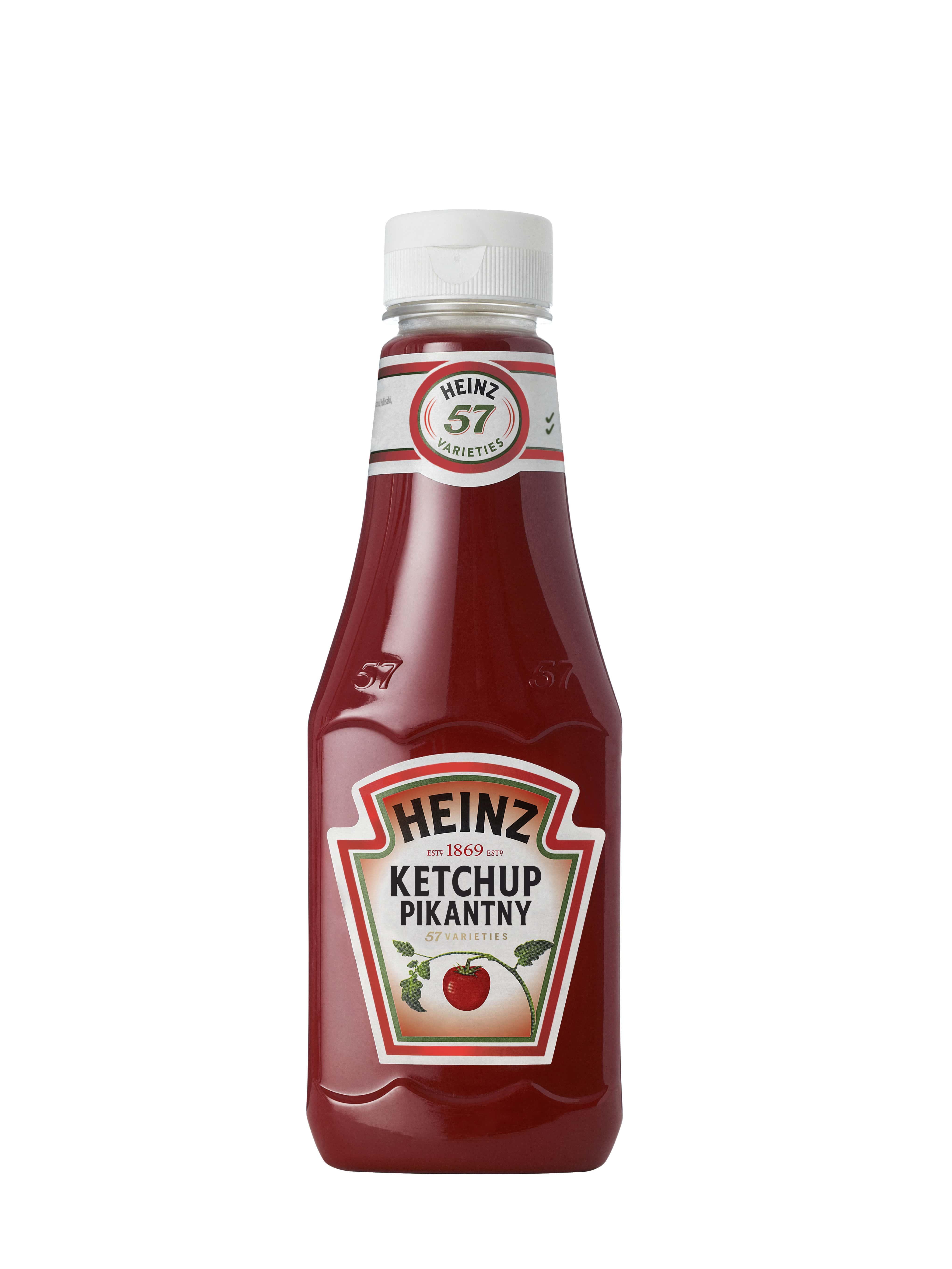 Ketchup Heinz 342 g plastikowa butelka mała image