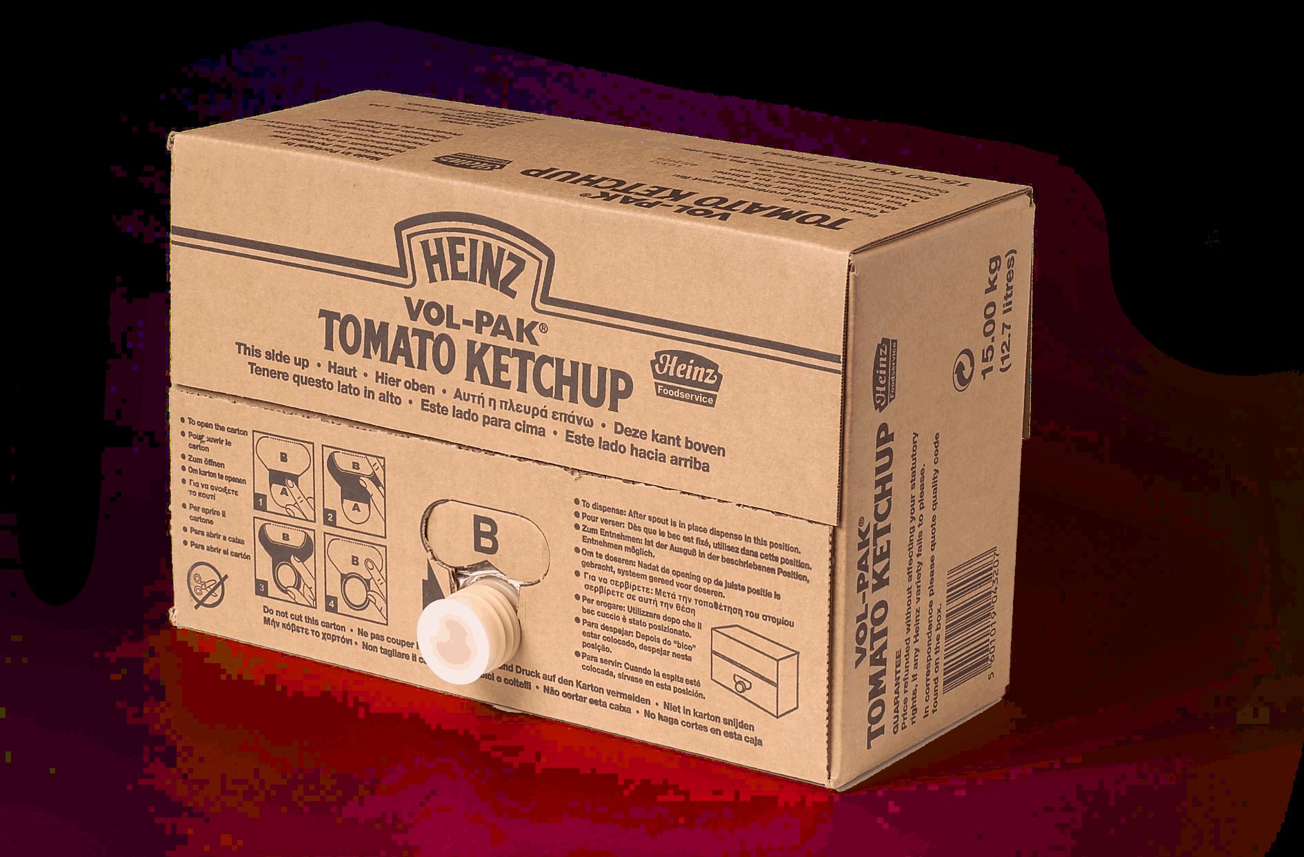 Ketchup Heinz 15kg dyspenser image