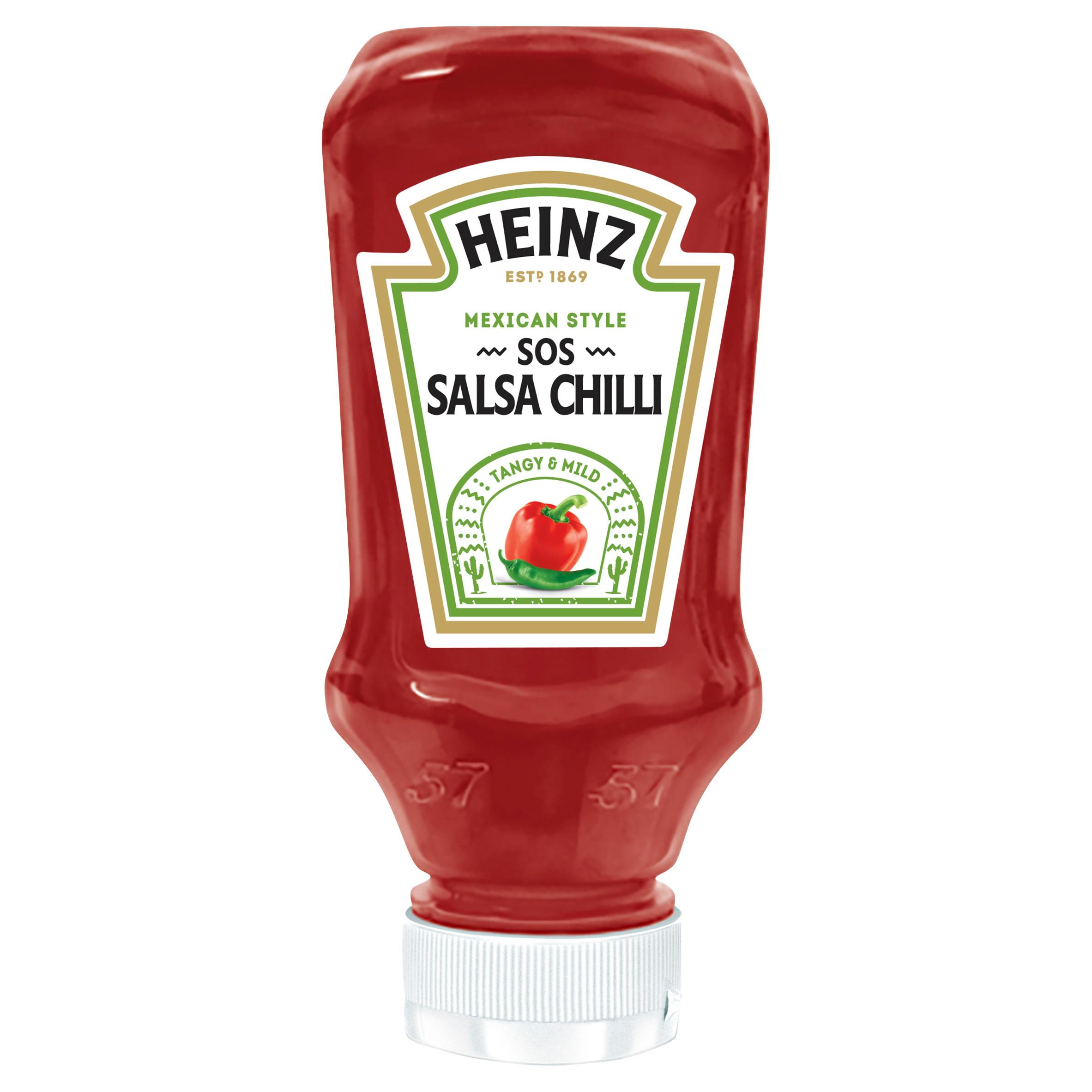 Sos ostre chilli Heinz 220ml plastikowa butelka mała image