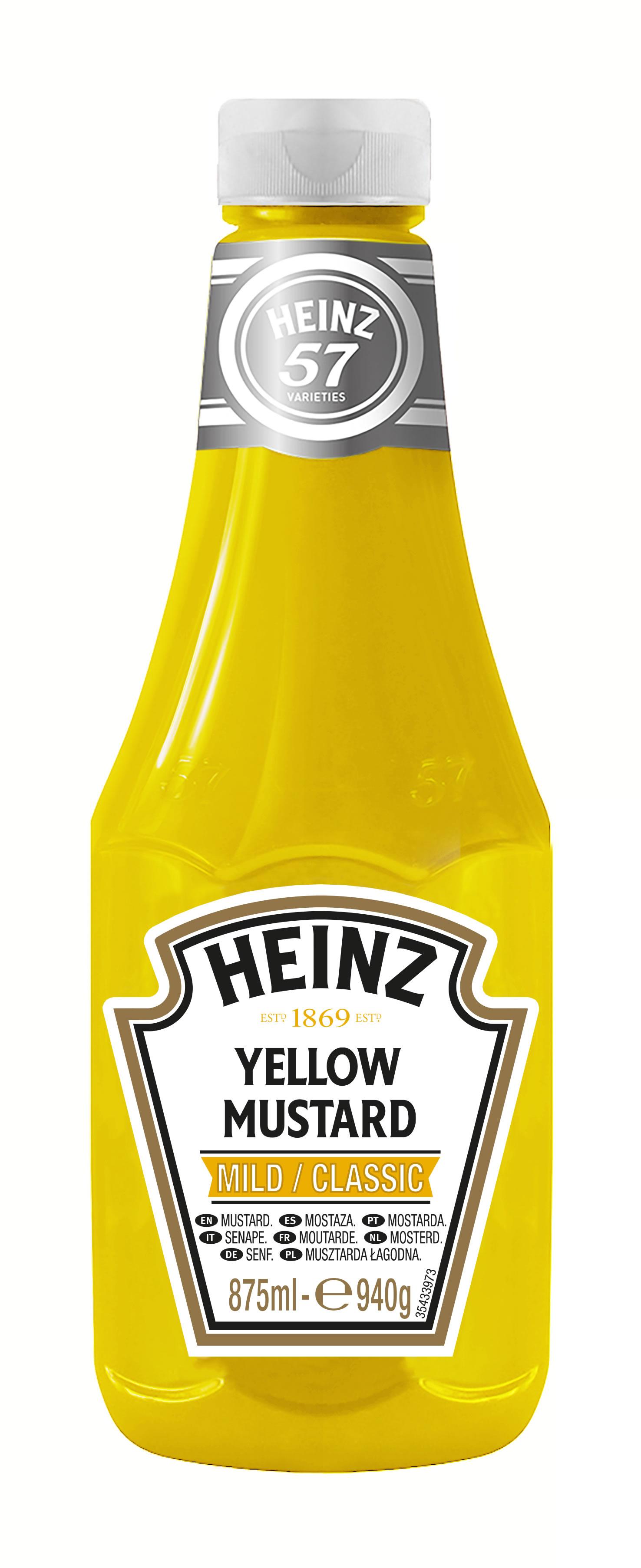 Musztarda Żółta Heinz 875ml plastikowa butelka duża image