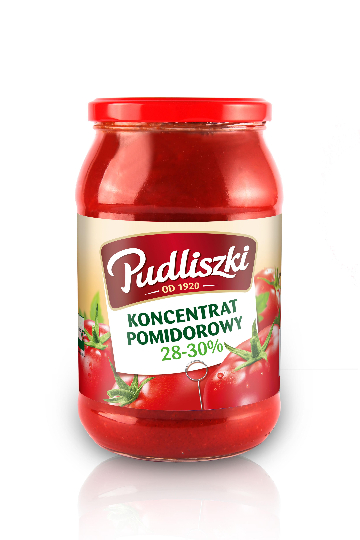 Koncentrat pomidorowy Pudliszki 950g szklany słoik image