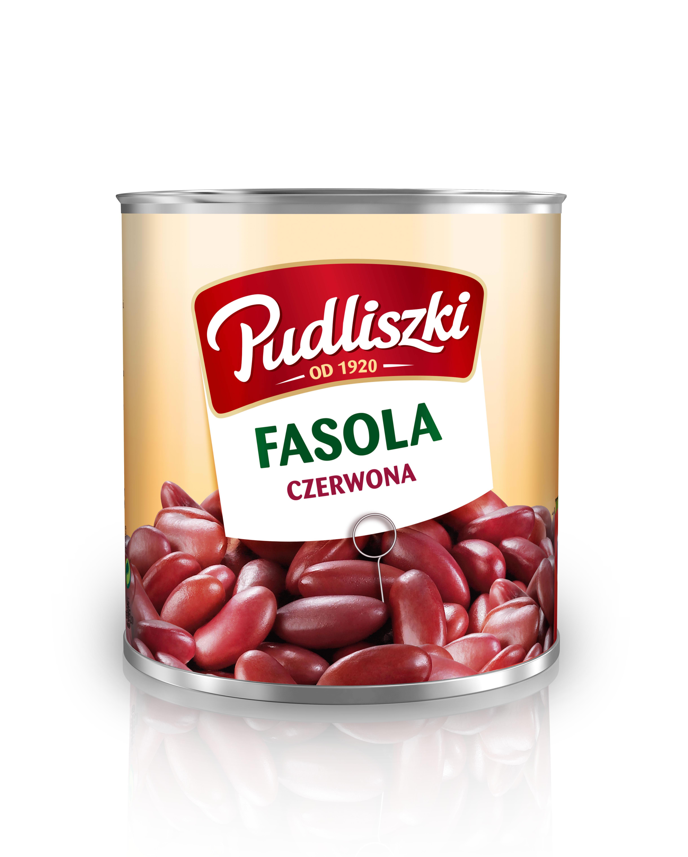 Czerwona fasola Pudliszki 2.6kg puszka image