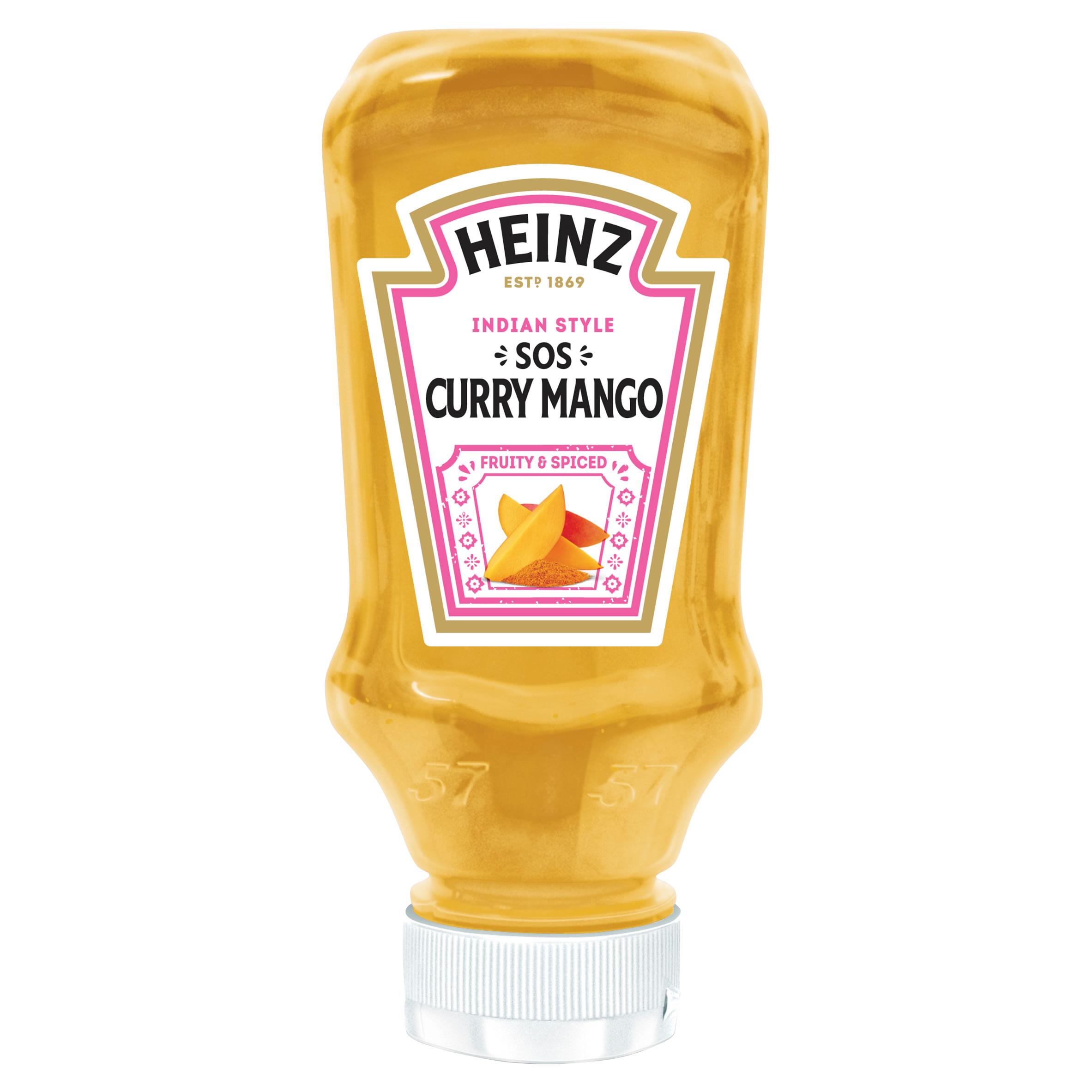 Sos curry mango 220ml plastikowa butelka mała image
