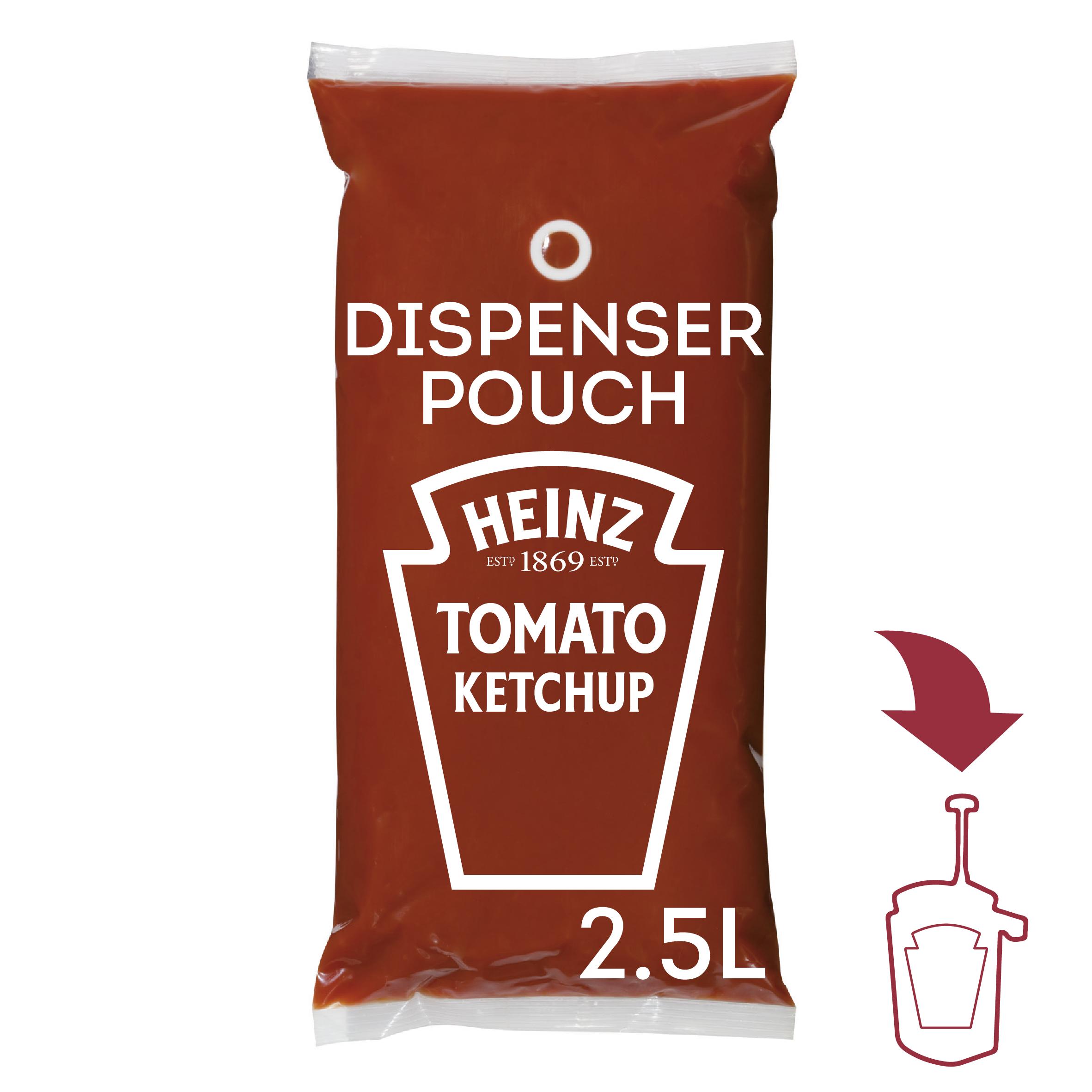 Ketchup Heinz 2.5L dyspenser image