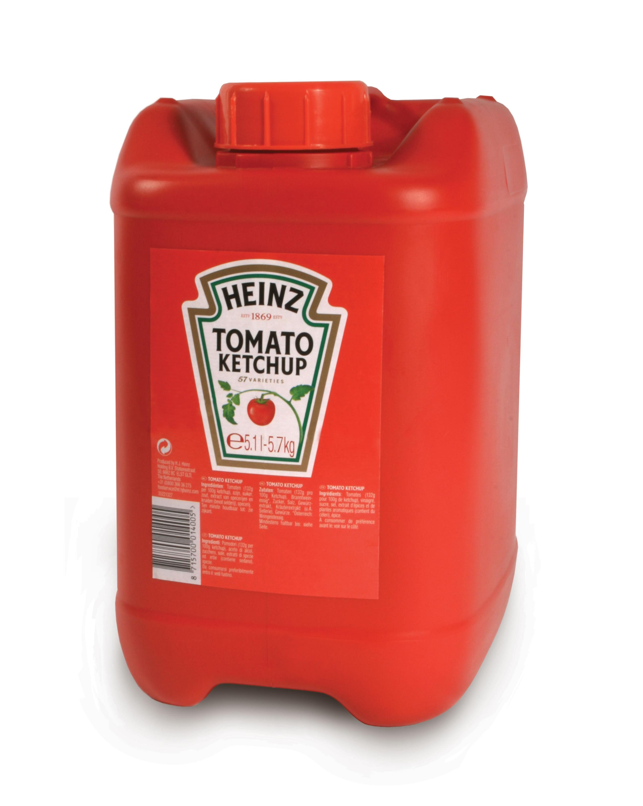 Ketchup Heinz 5.7kg kanister image