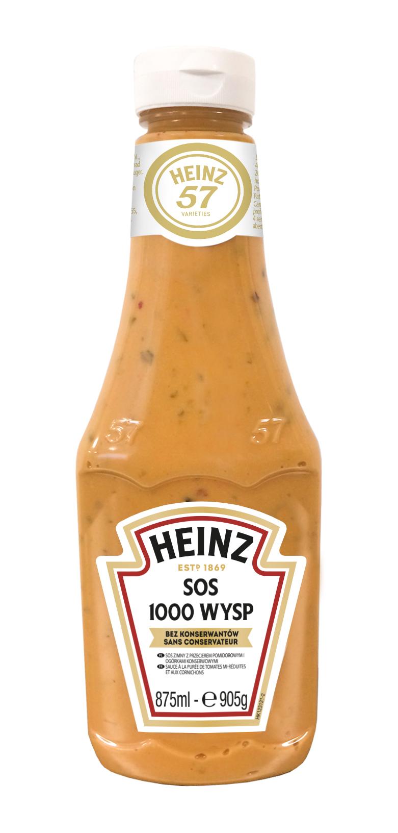 Sos 1000 Wysp 875ml plastikowa butelka duża image
