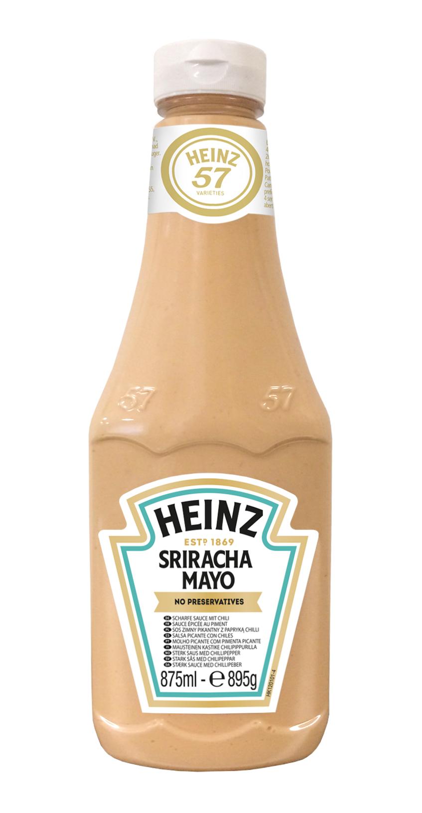 Sos Sriracha Mayo 875ml plastikowa butelka duża image
