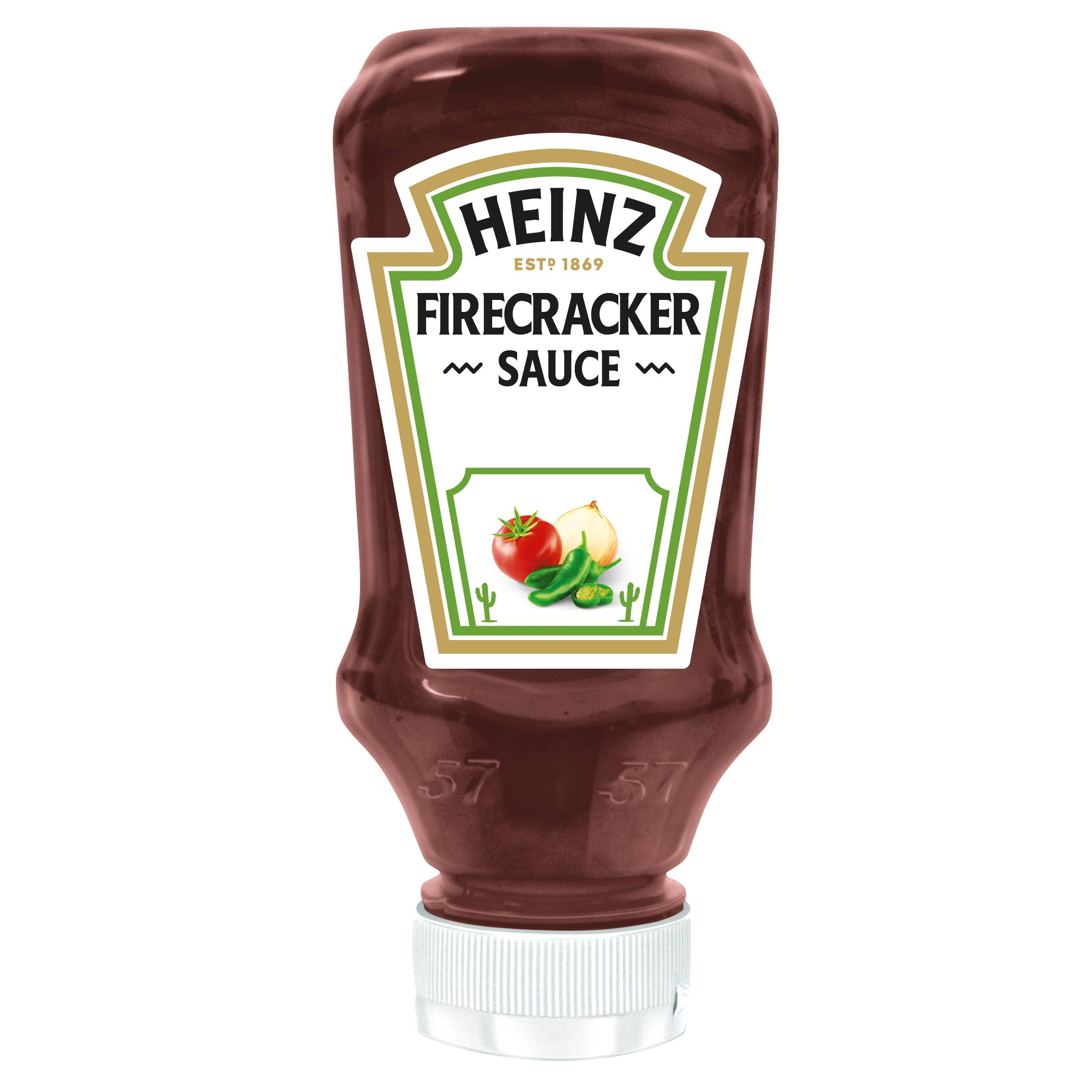 Heinz Firecracker 220ml Top Down image