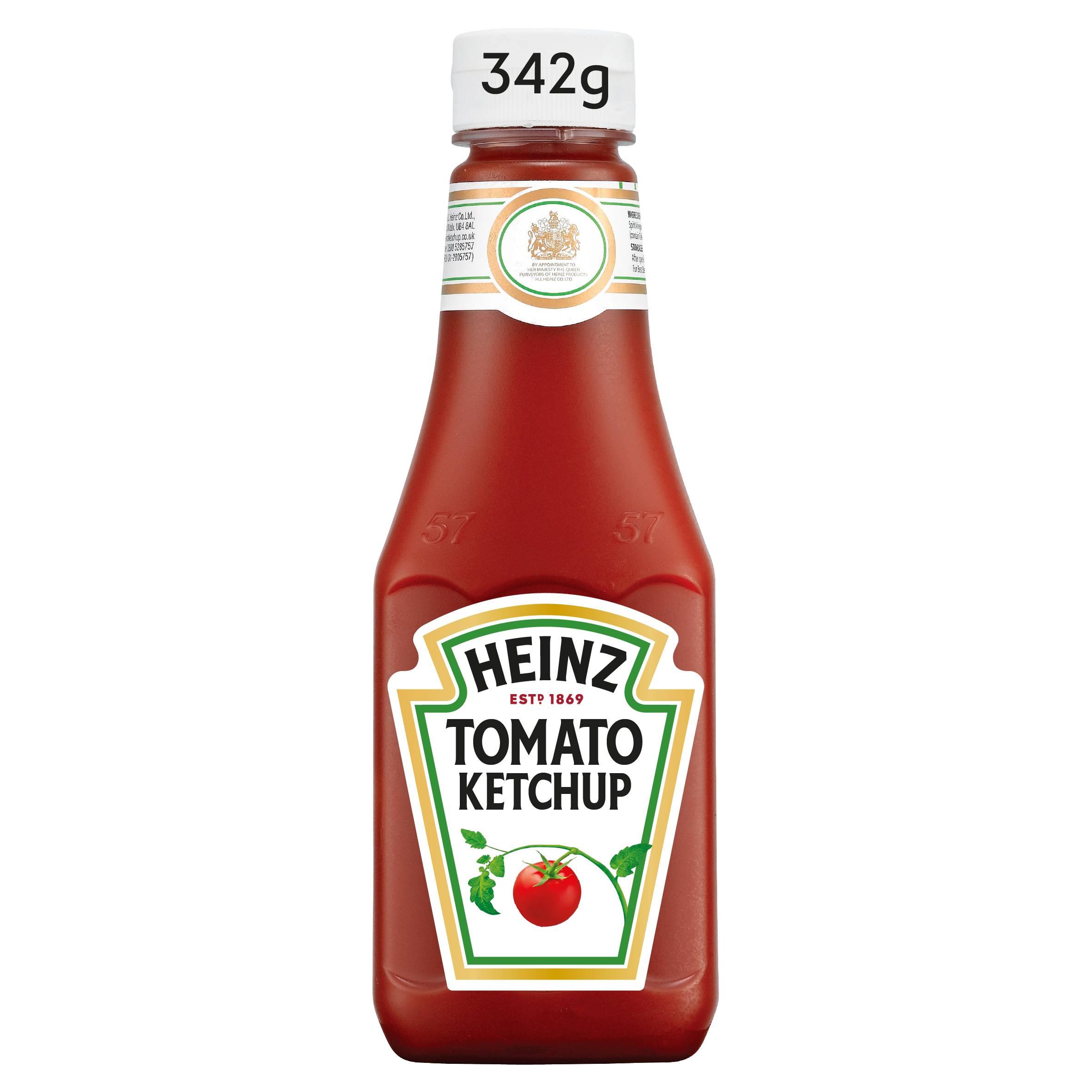 Heinz Tomato Ketchup 342gm Bottom Up image