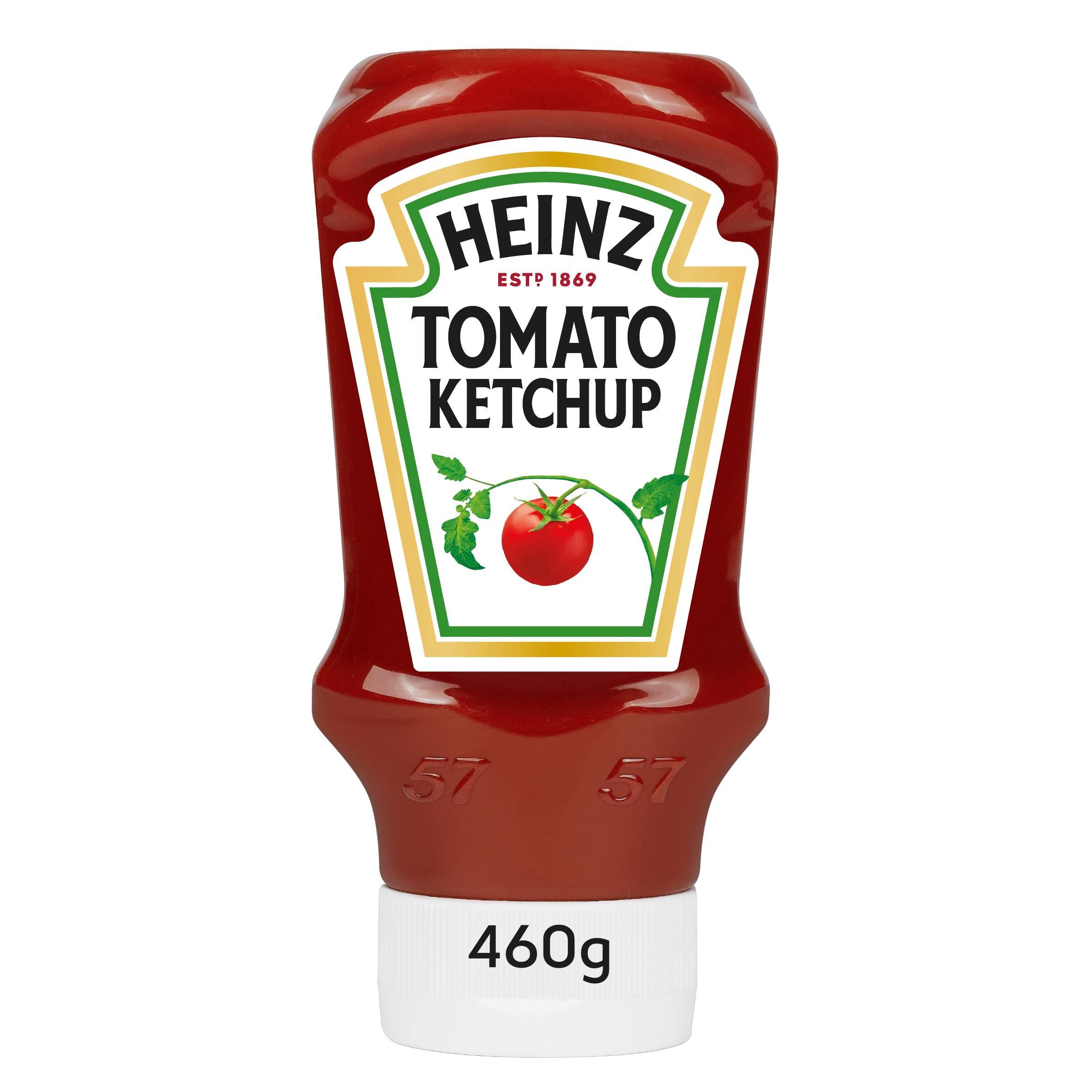 Heinz Tomato Ketchup 460gm Top Down image