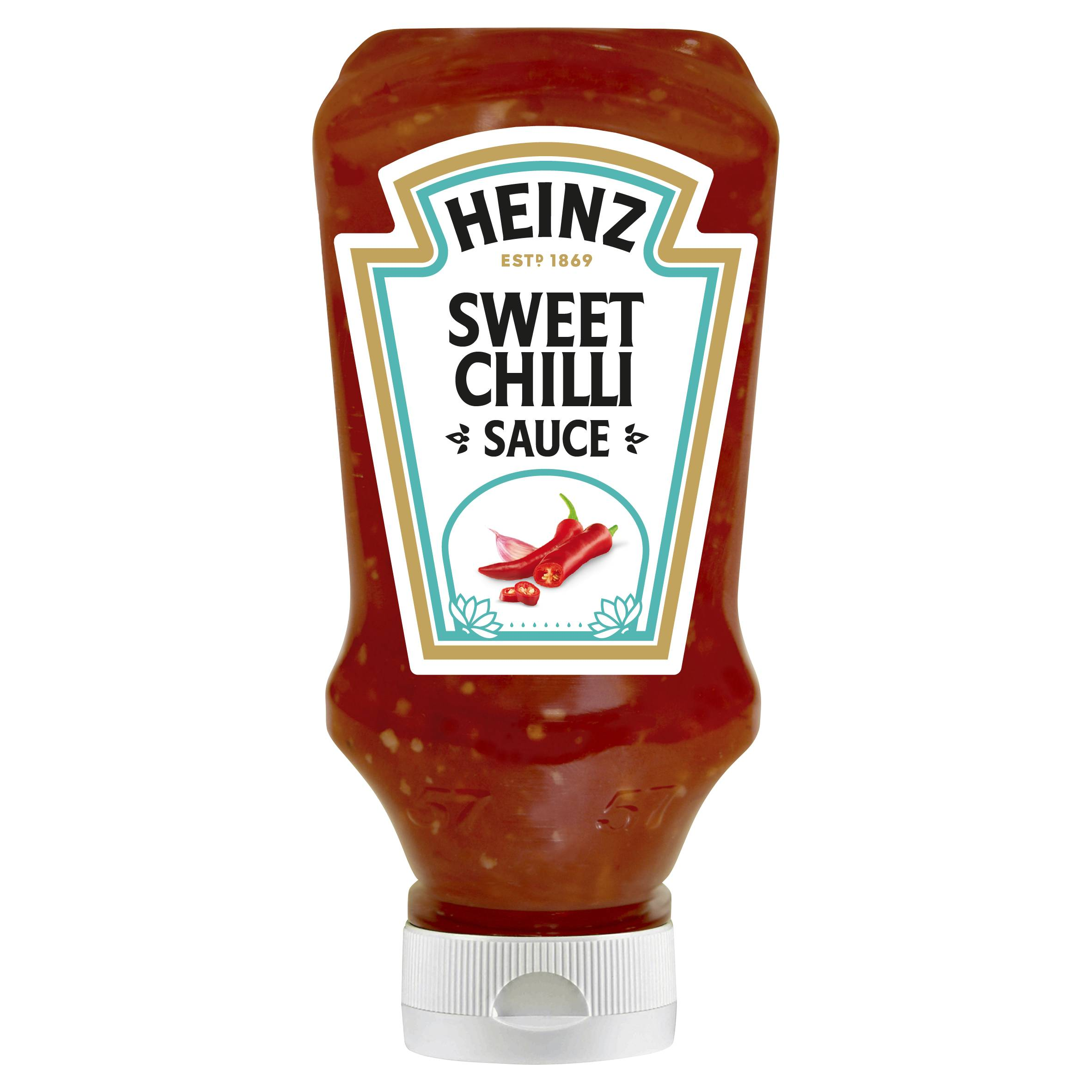 Heinz Sweet Chilli 220ml Top Down image