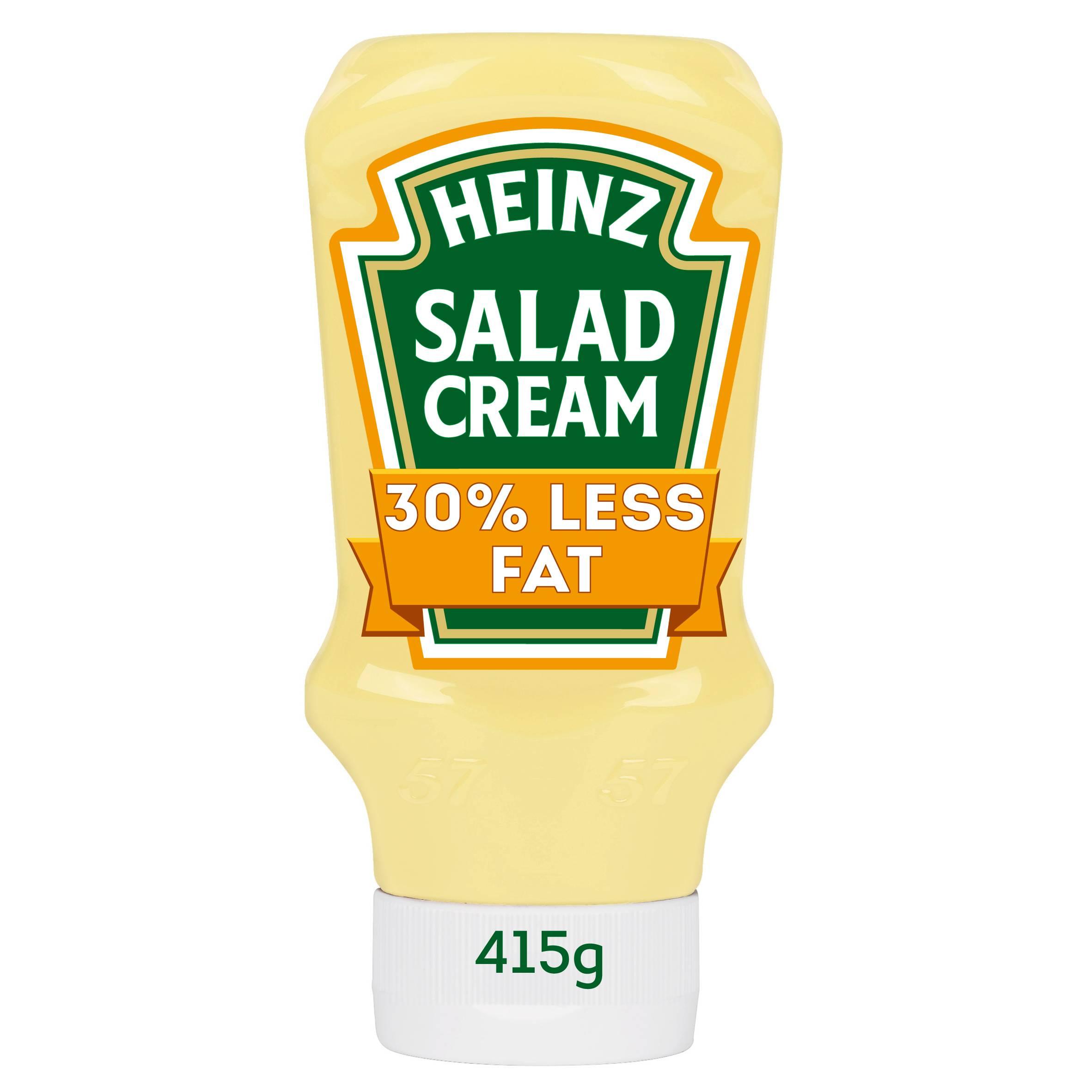 Heinz Salad Cream Light 415gm Top Down image