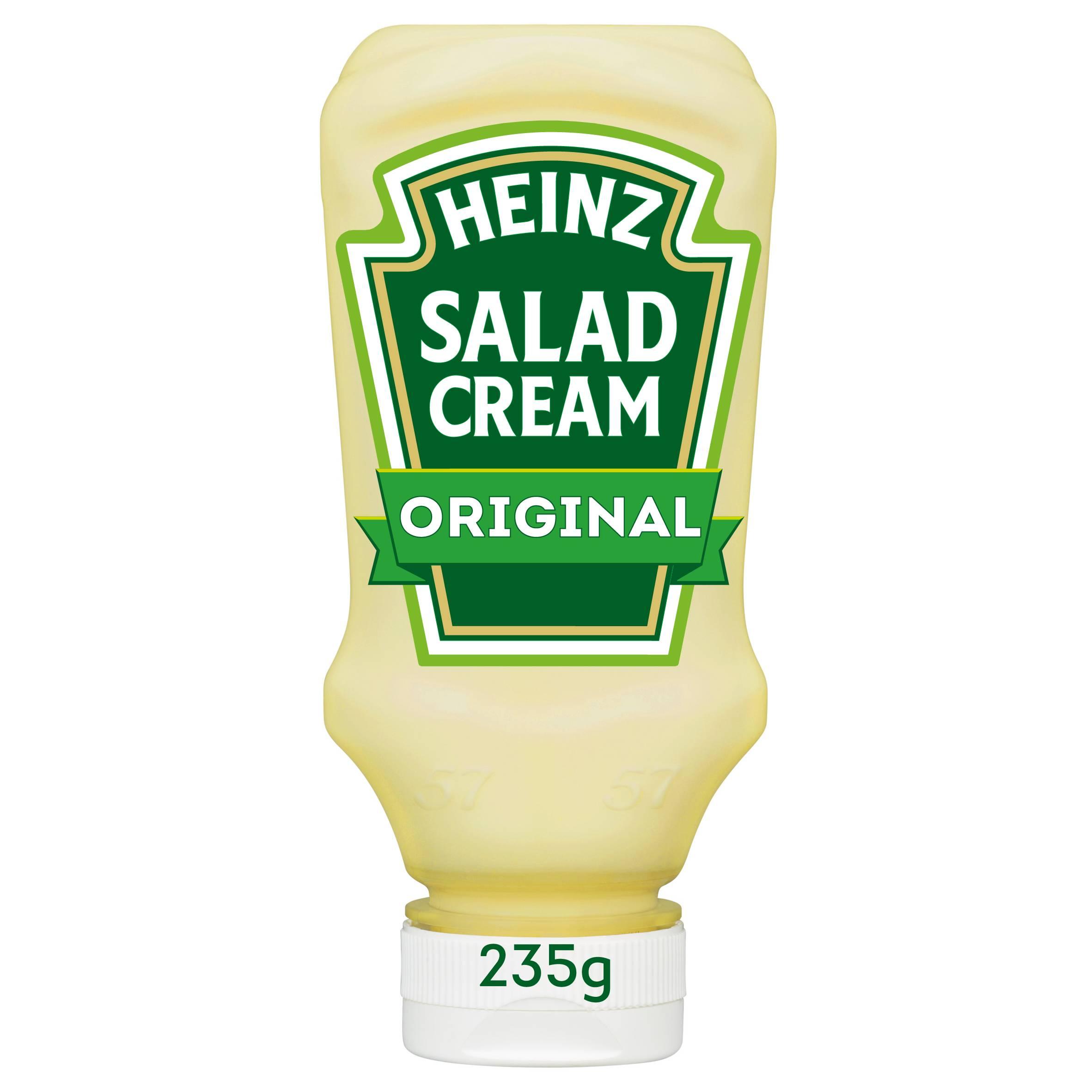 Heinz Salad Cream 235gm Top Down image