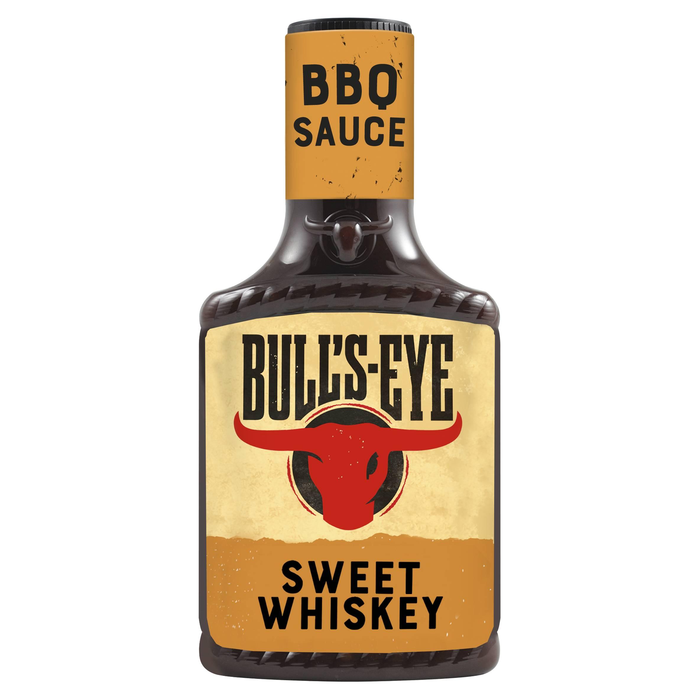 Bull's Eye Sweet Whiskey Glaze 300gm Top Down image