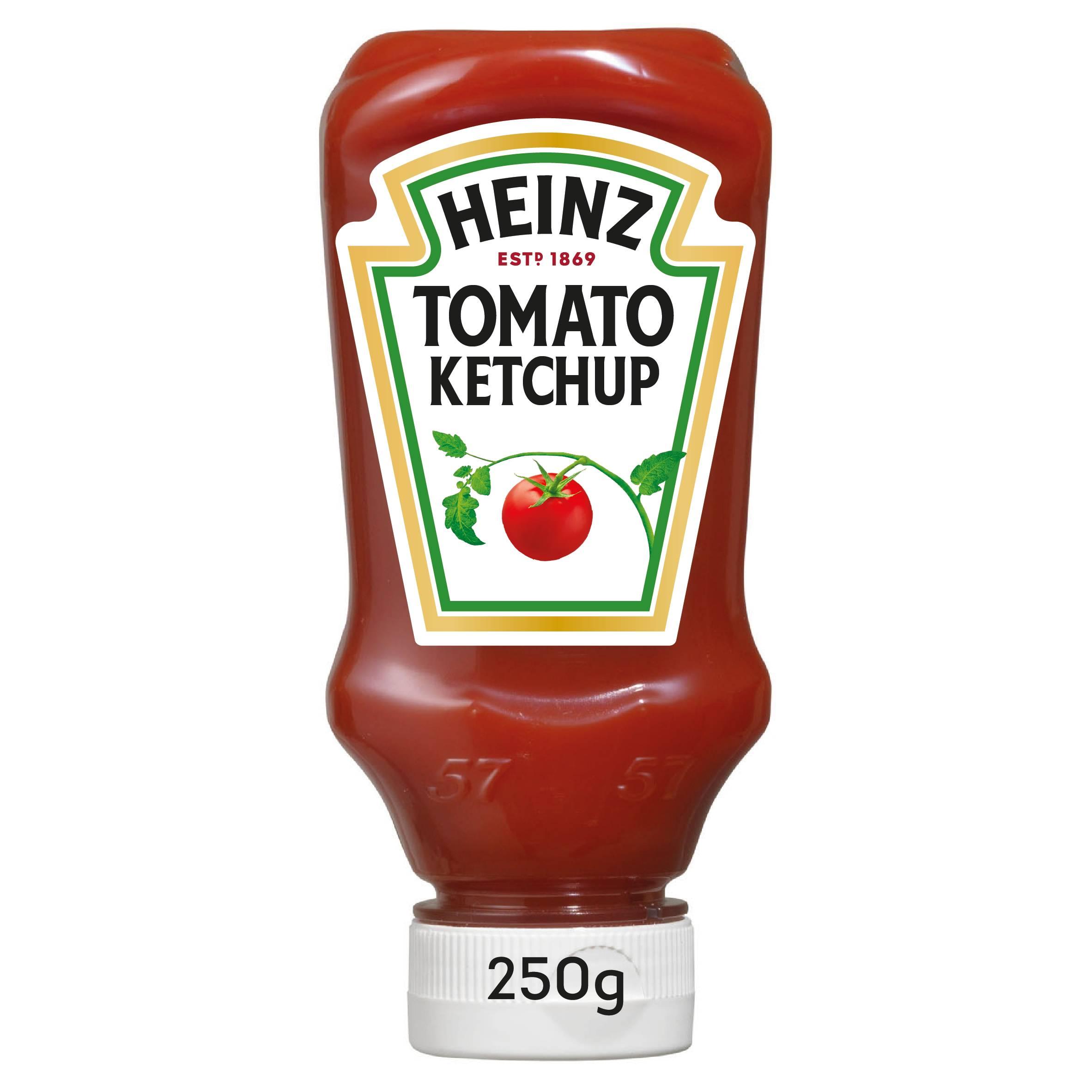 Heinz Tomato Ketchup 250g Top Down image