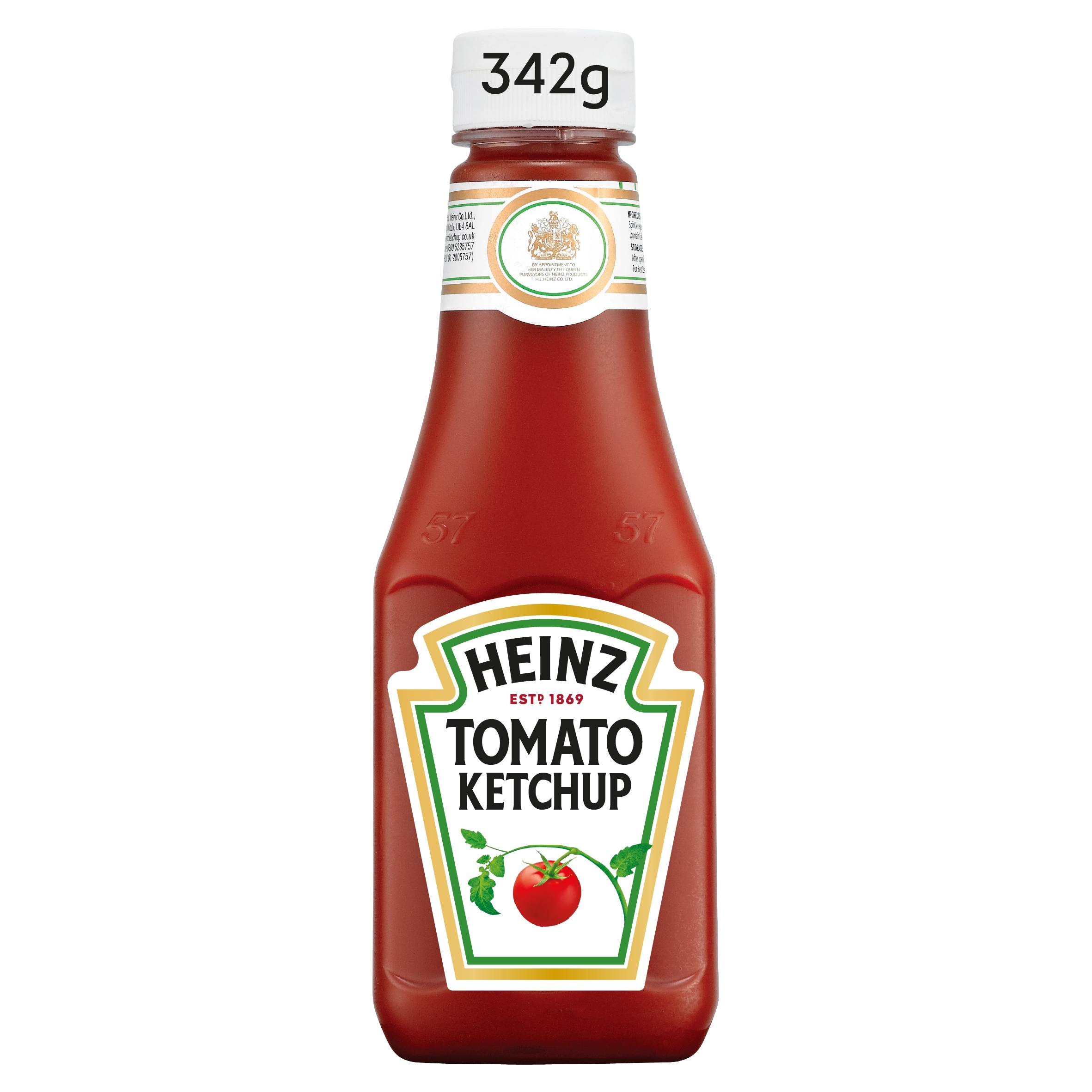 Ketchup Heinz 342g plastikowa butelka mała image