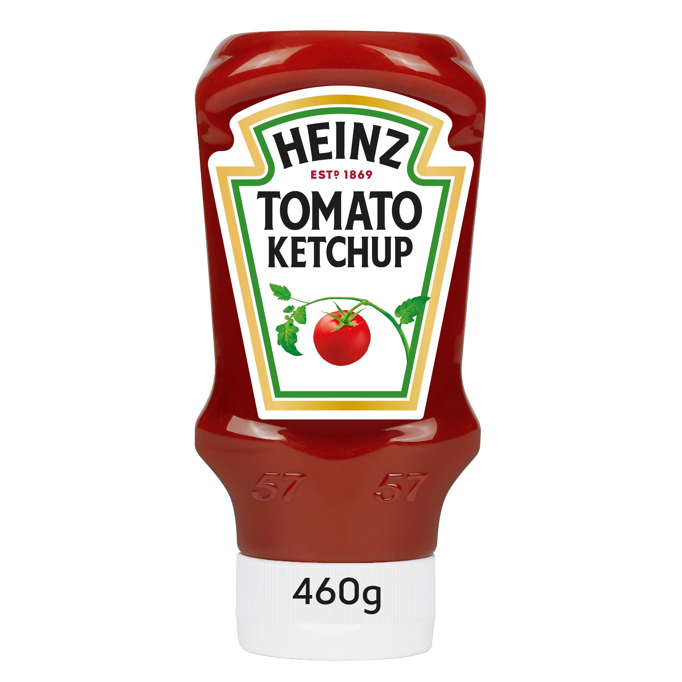 Heinz Tomato Ketchup 400ml Flacon Souple Top Down image