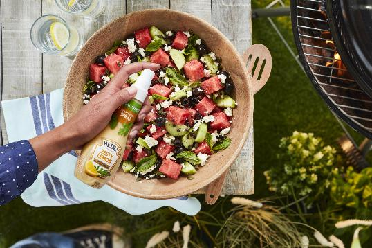 Heinz Zesty Lemon Salad Dressing Spray