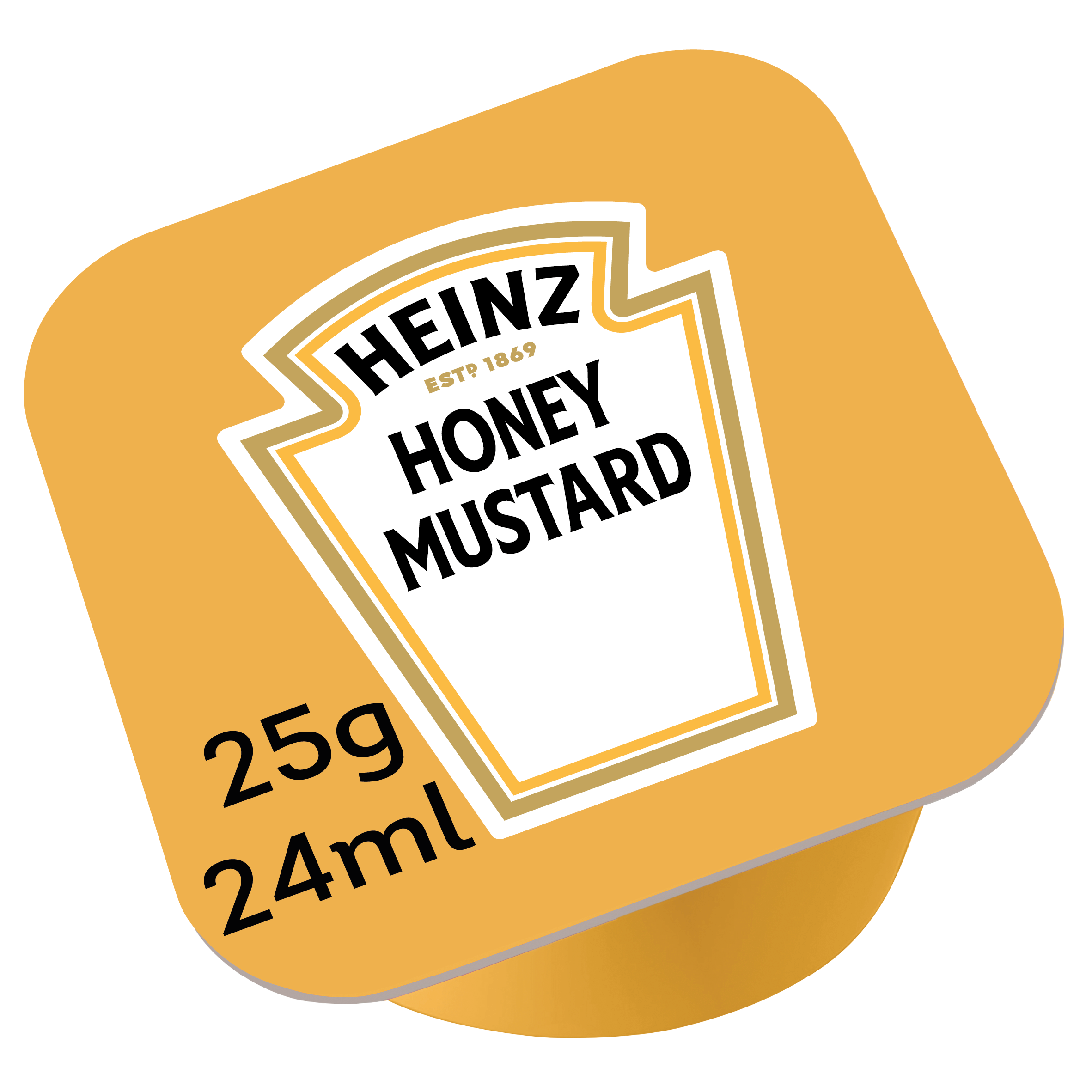 Heinz Cream Honey Mustard 25gm Dip Pot