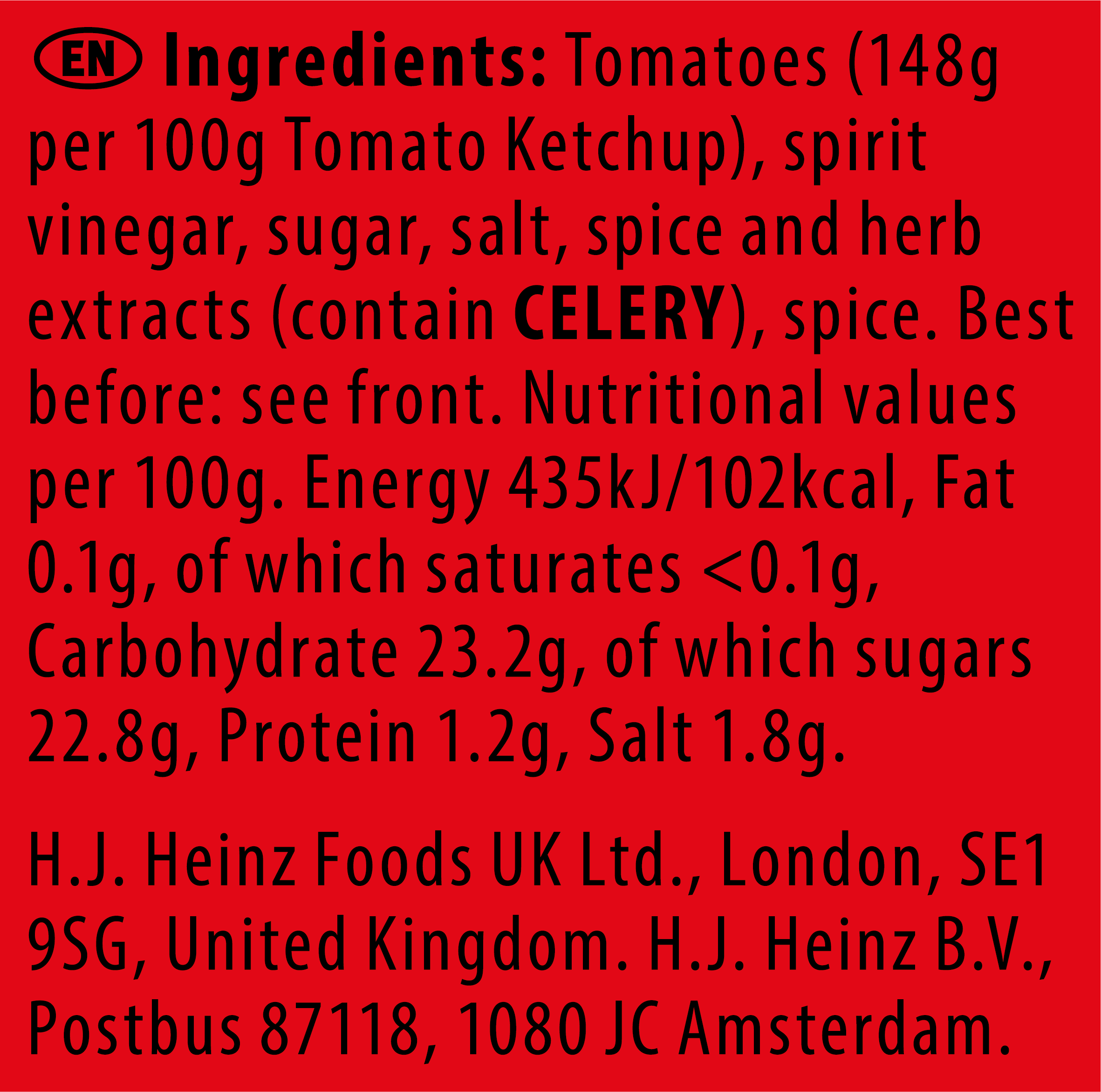 Heinz Tomato Ketchup 7ml Sachet