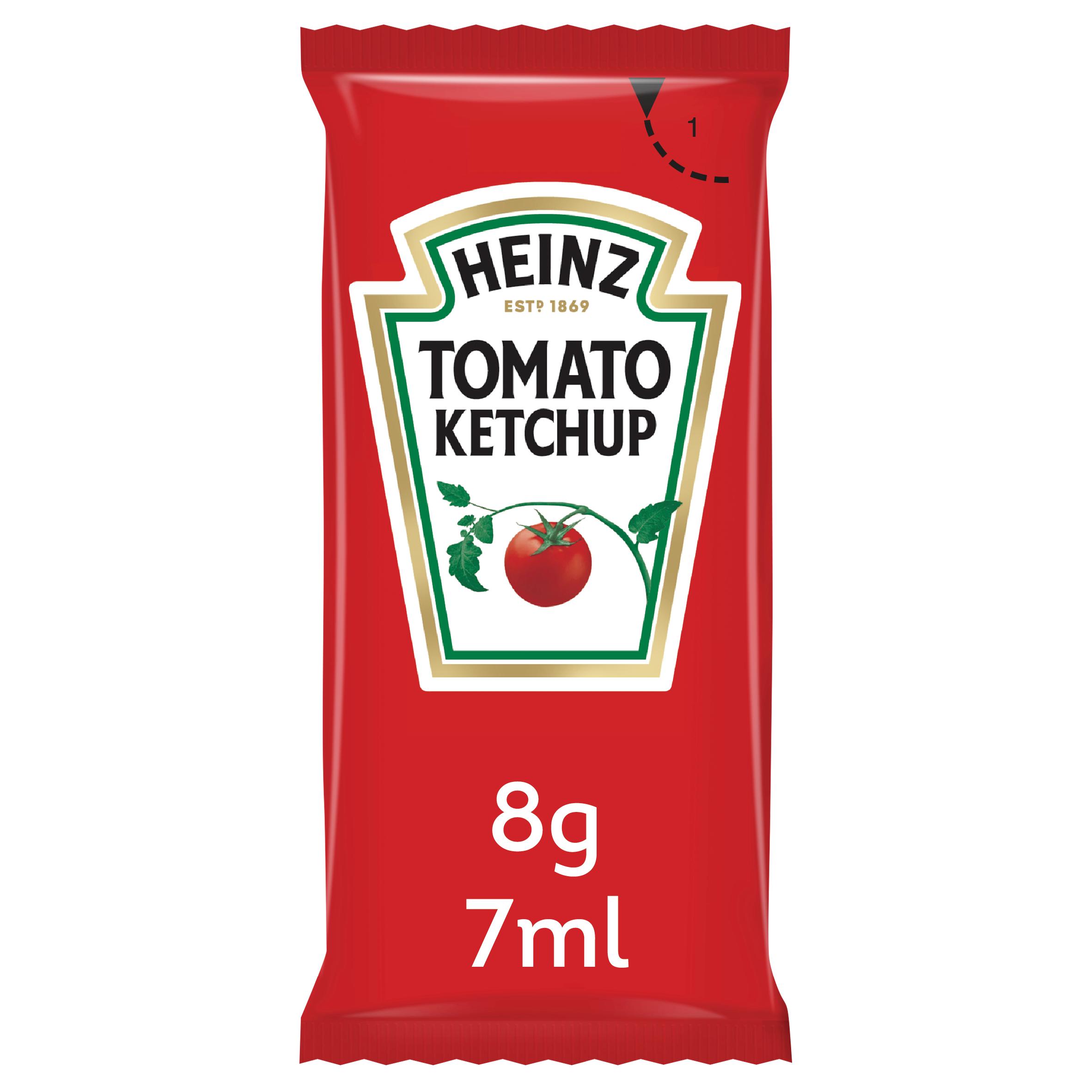 Heinz Tomato Ketchup 7ml Sachet image