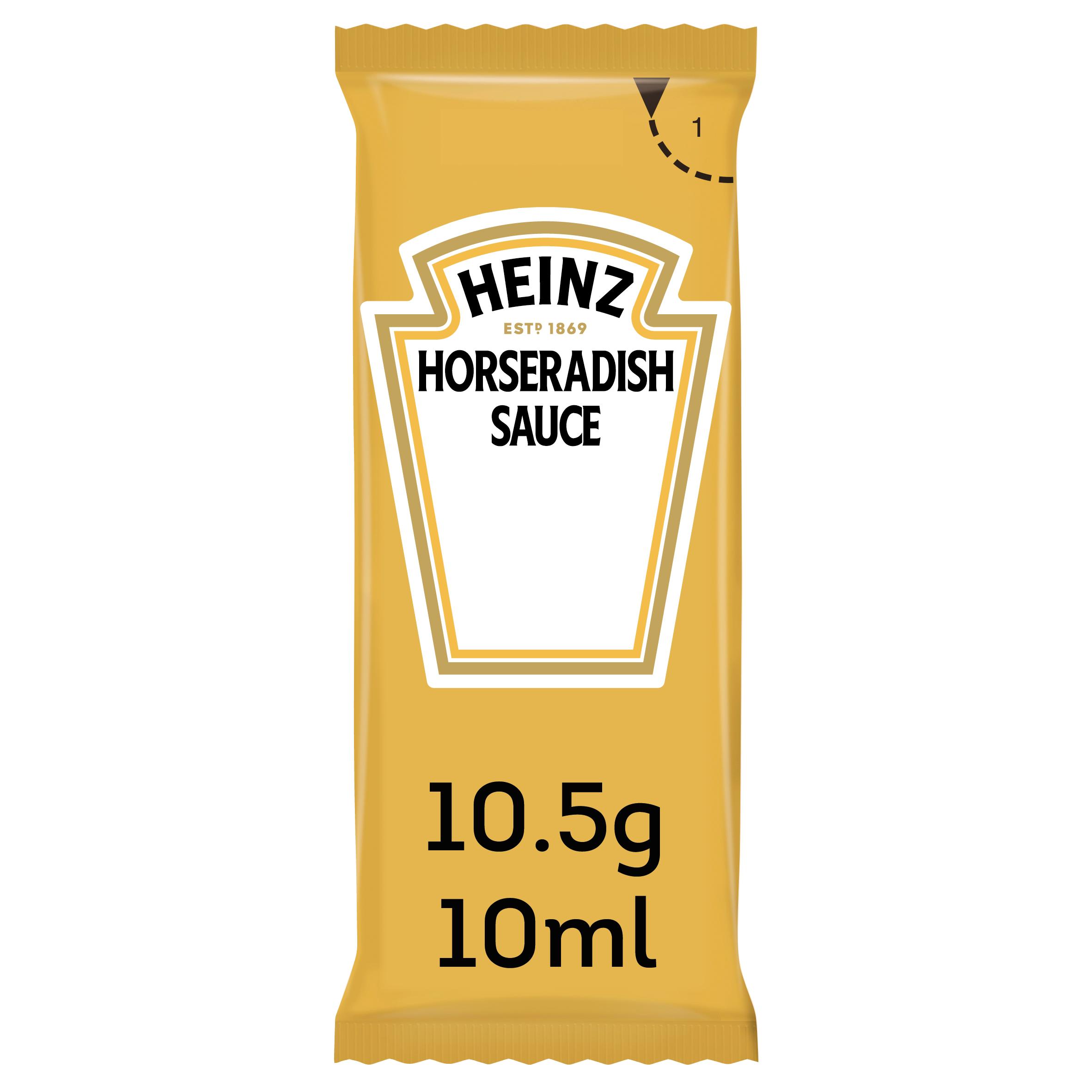 Heinz Horseradish 10ml Sachet image