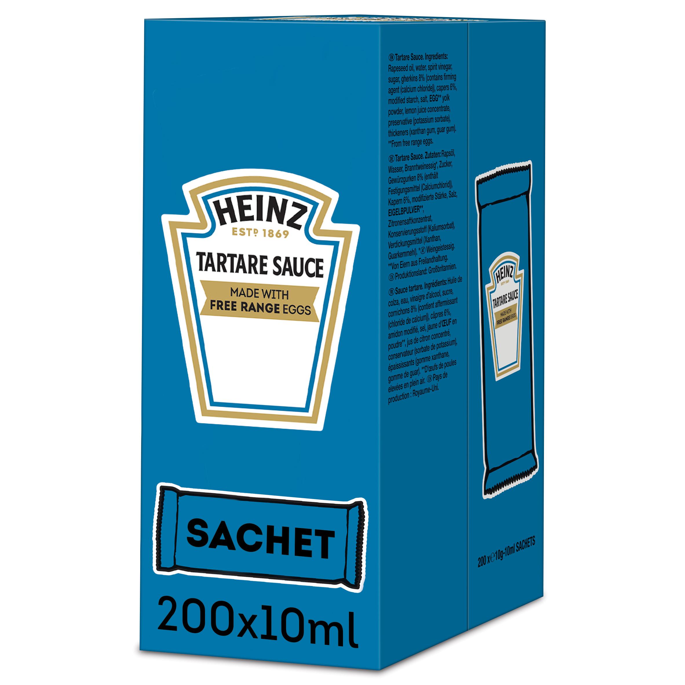 Heinz Tartare 10ml Sachet
