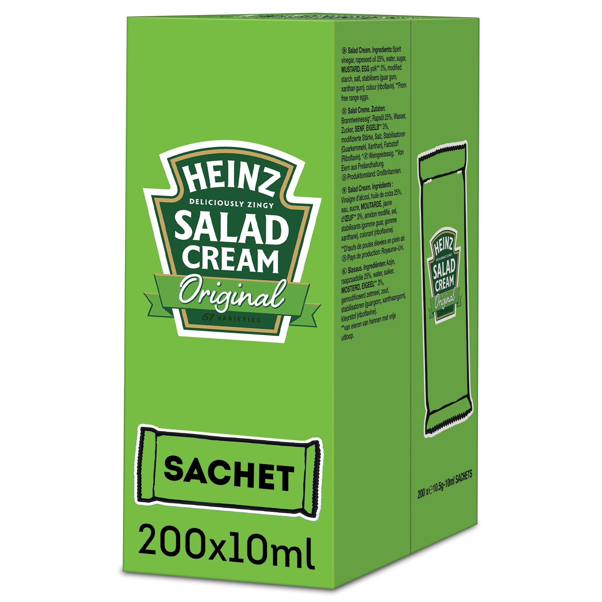 Heinz Salad Cream 10ml Sachet