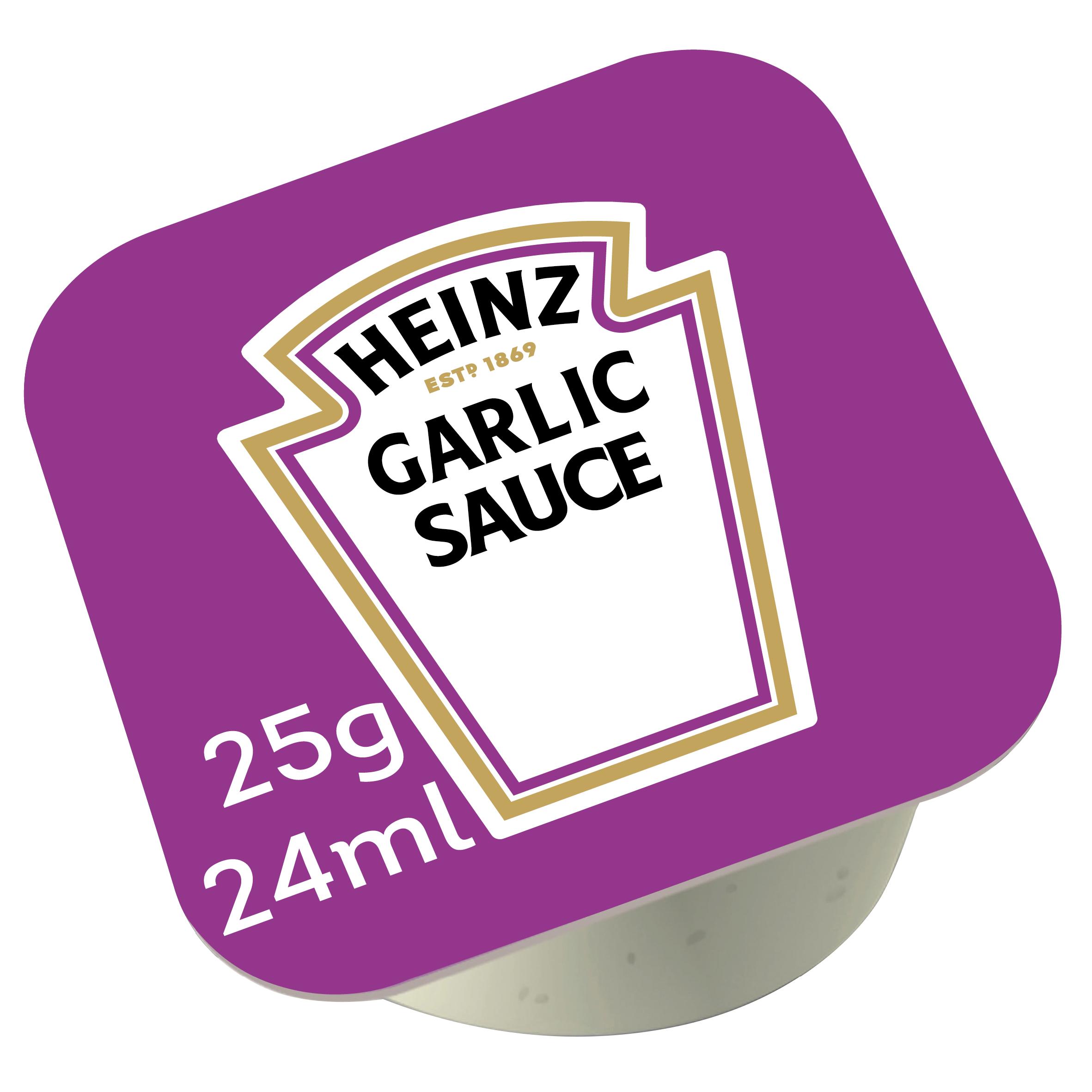 Heinz Sauce Garlic 25g Coupelle image
