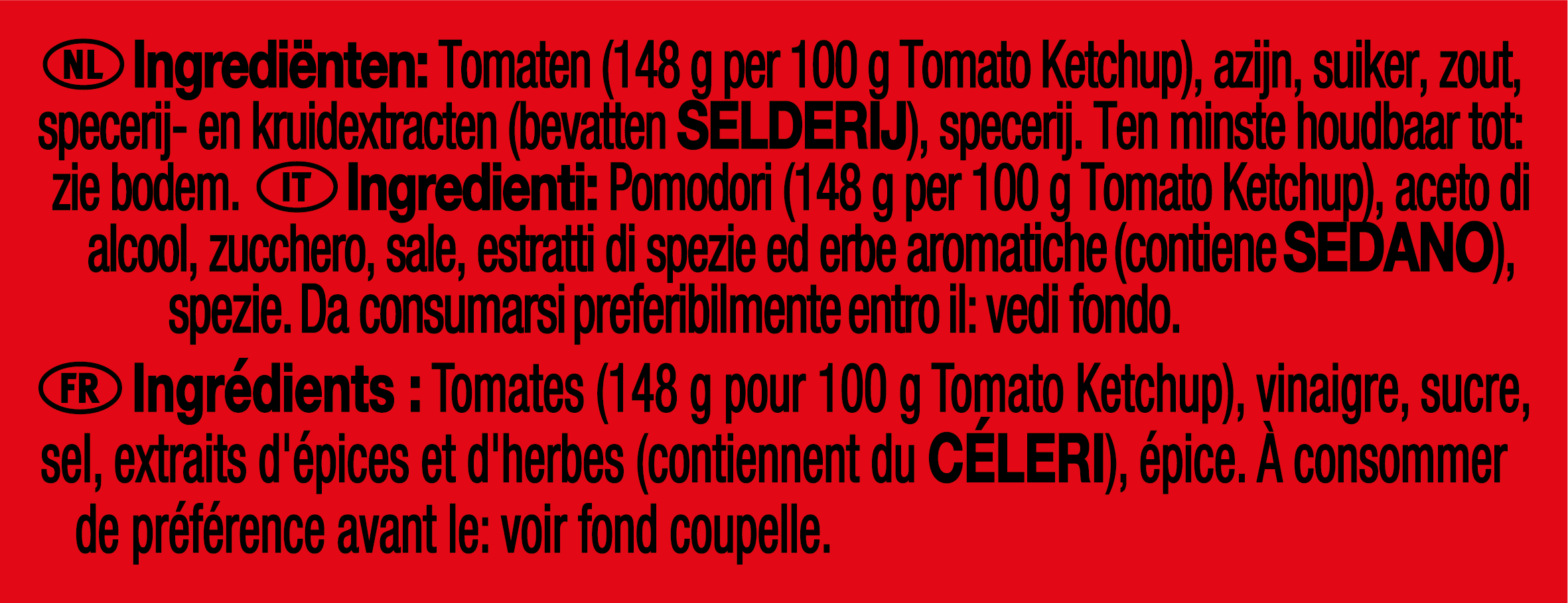 Heinz Ketchup 25g Coupelle
