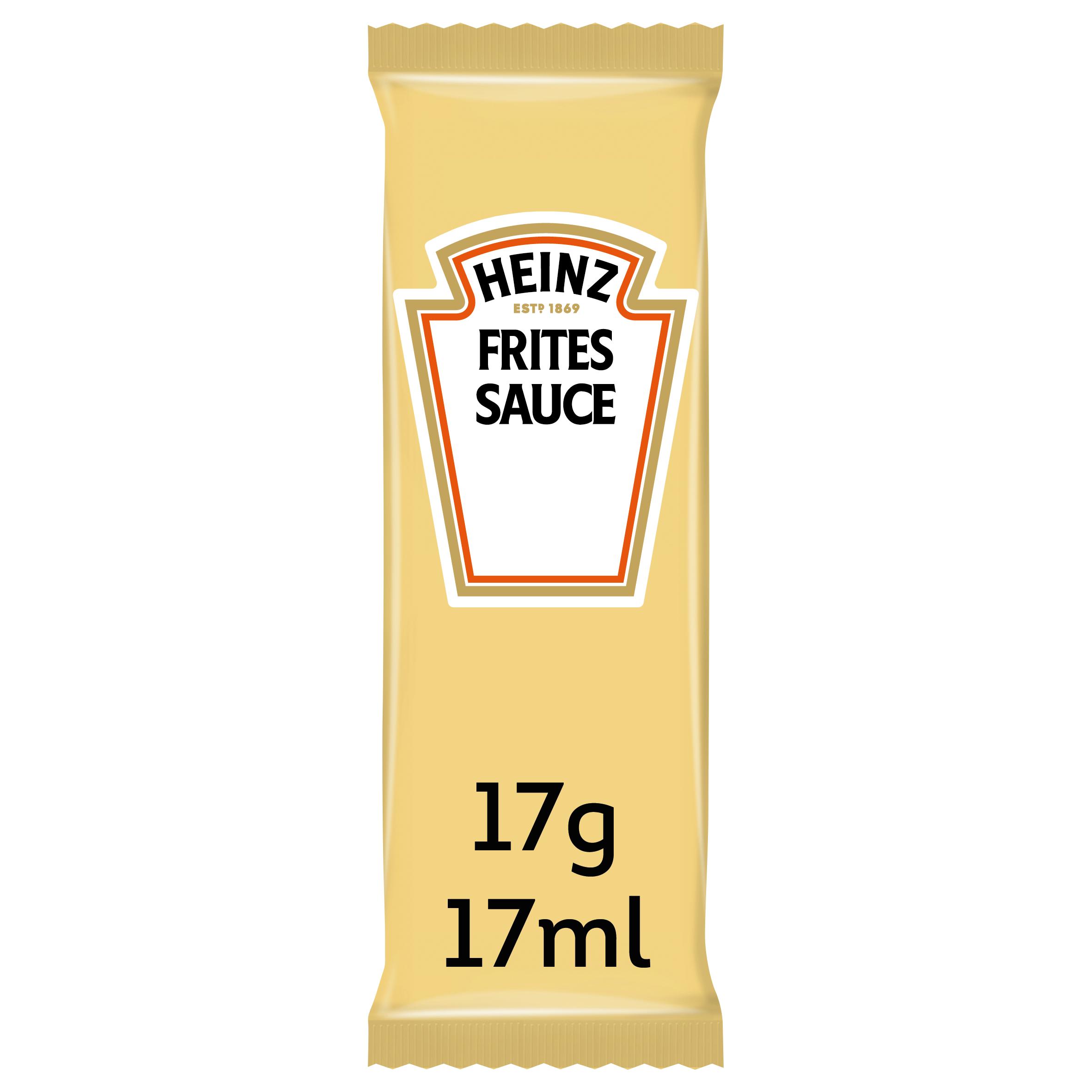 Heinz Frites Sauce17ml Sachet image