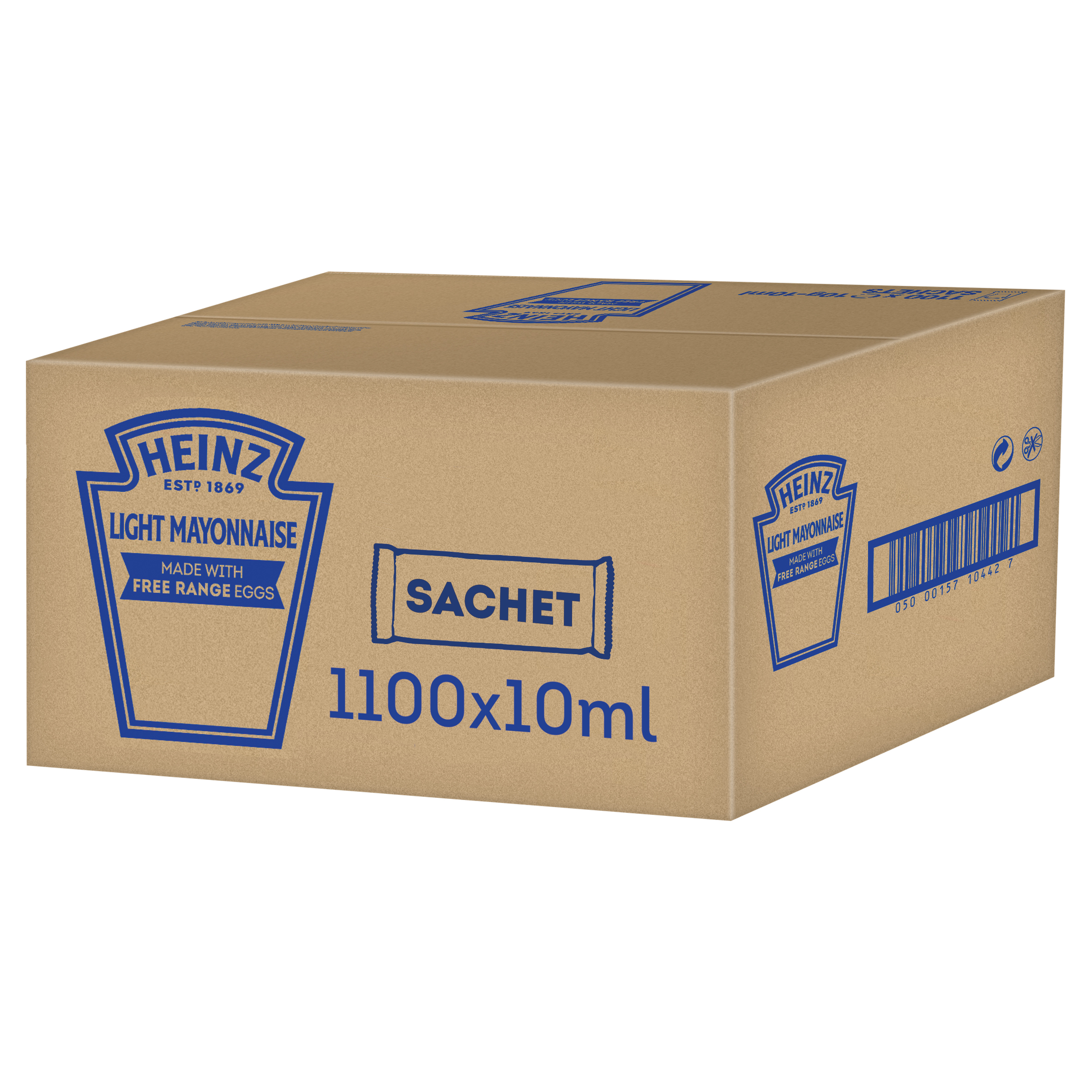 Heinz Mayonnaise Light 10ml Sachet