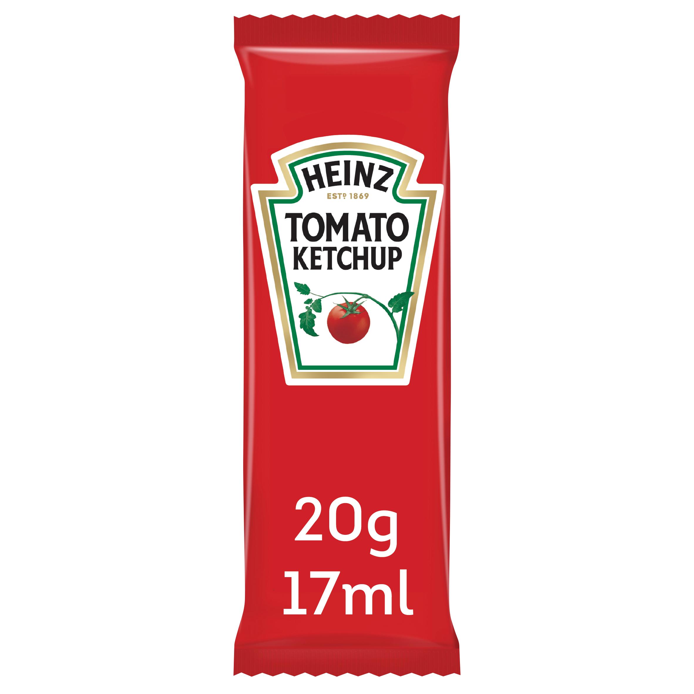 Heinz Tomato Ketchup 17ml Bustina image