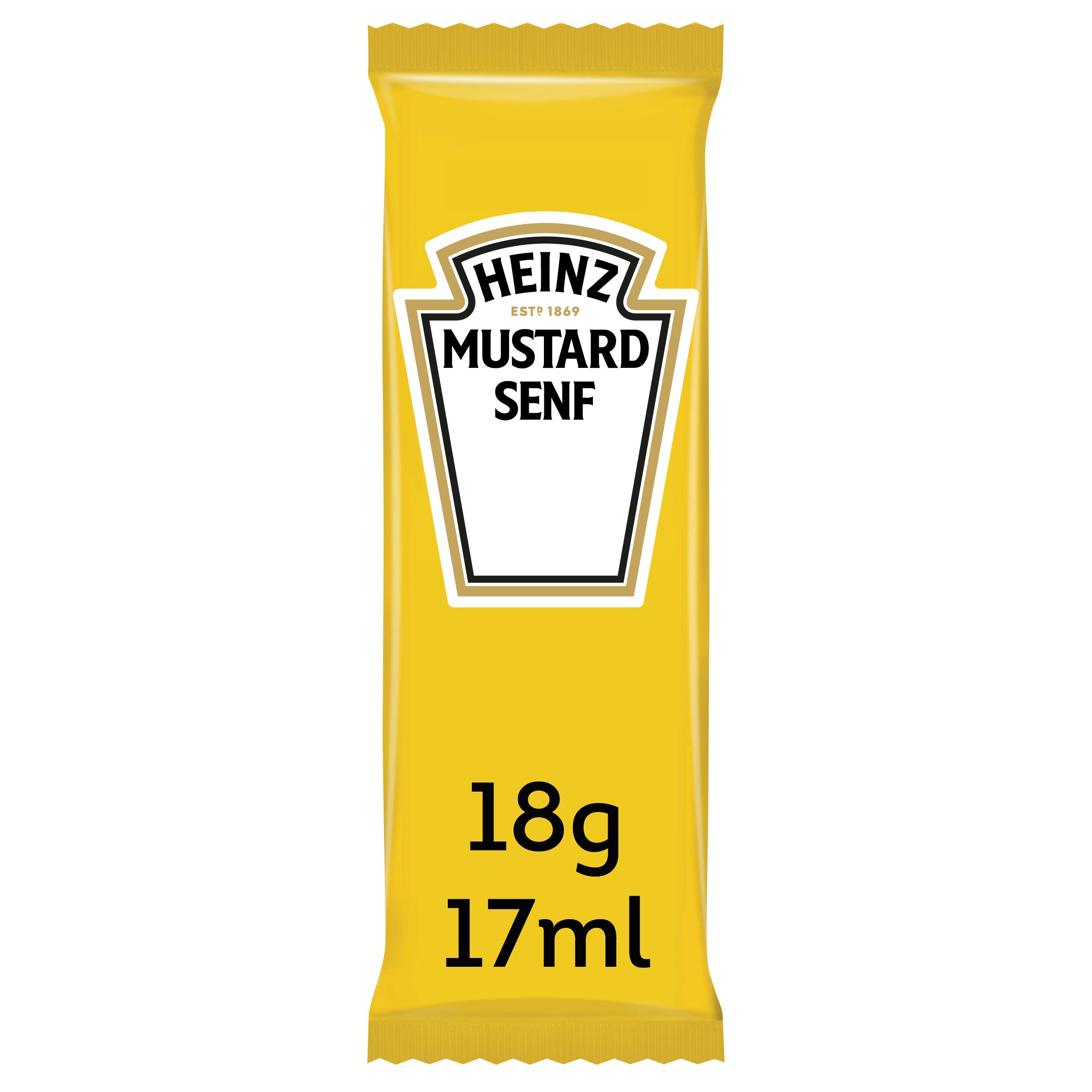 Heinz Mustard 17ml Sachet image