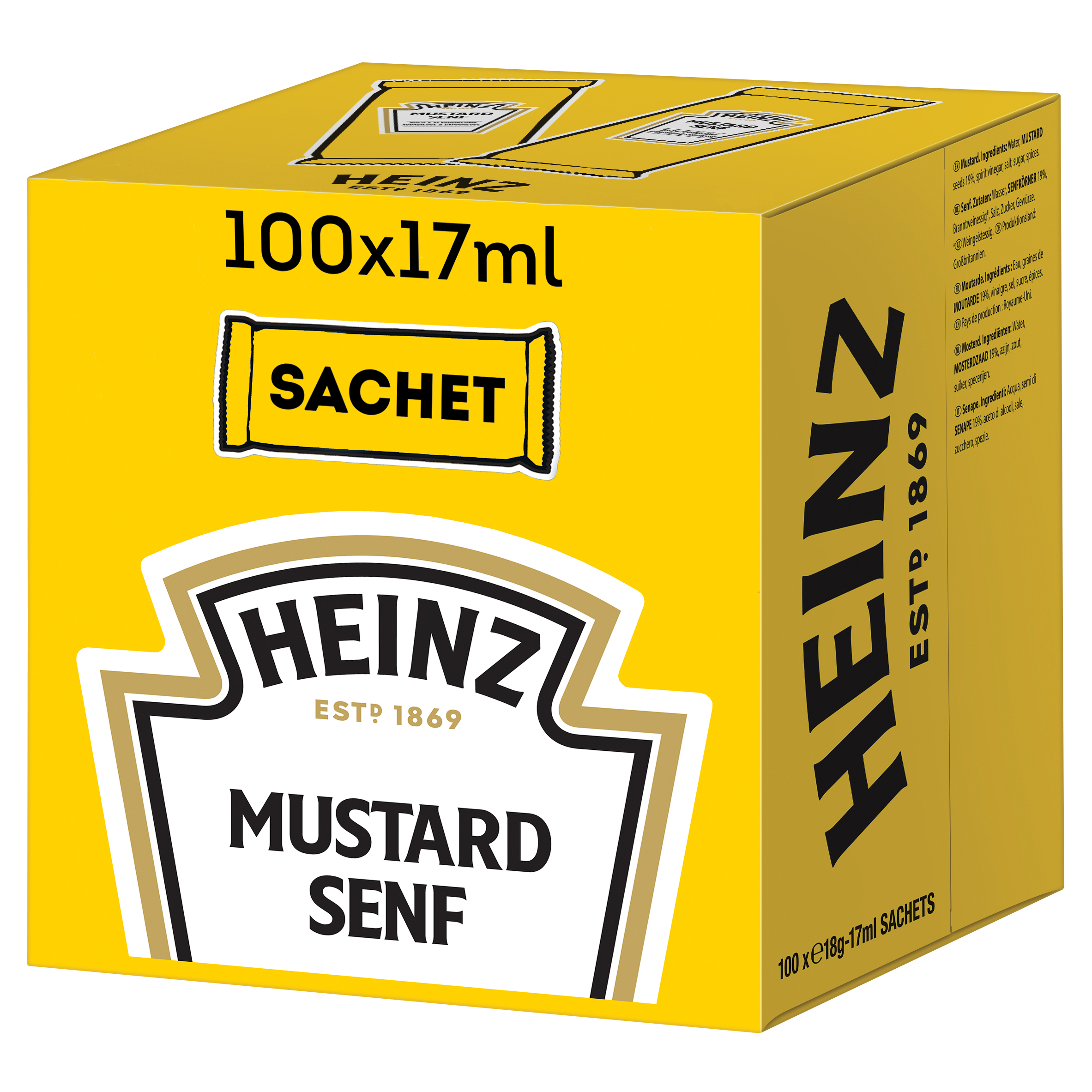 Heinz Mustard 17ml Sachet