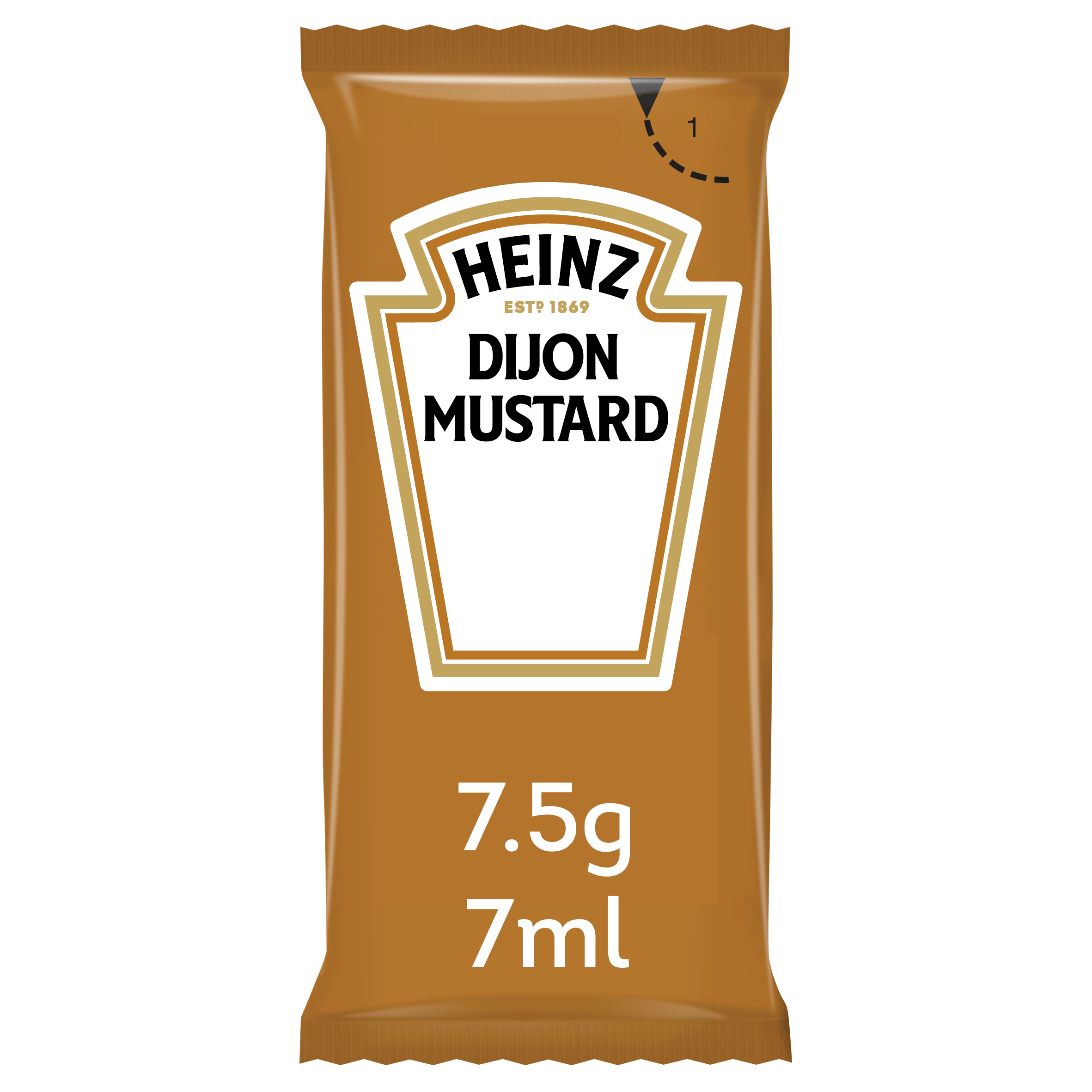 Heinz Dijon Mustard 7ml Sachet image