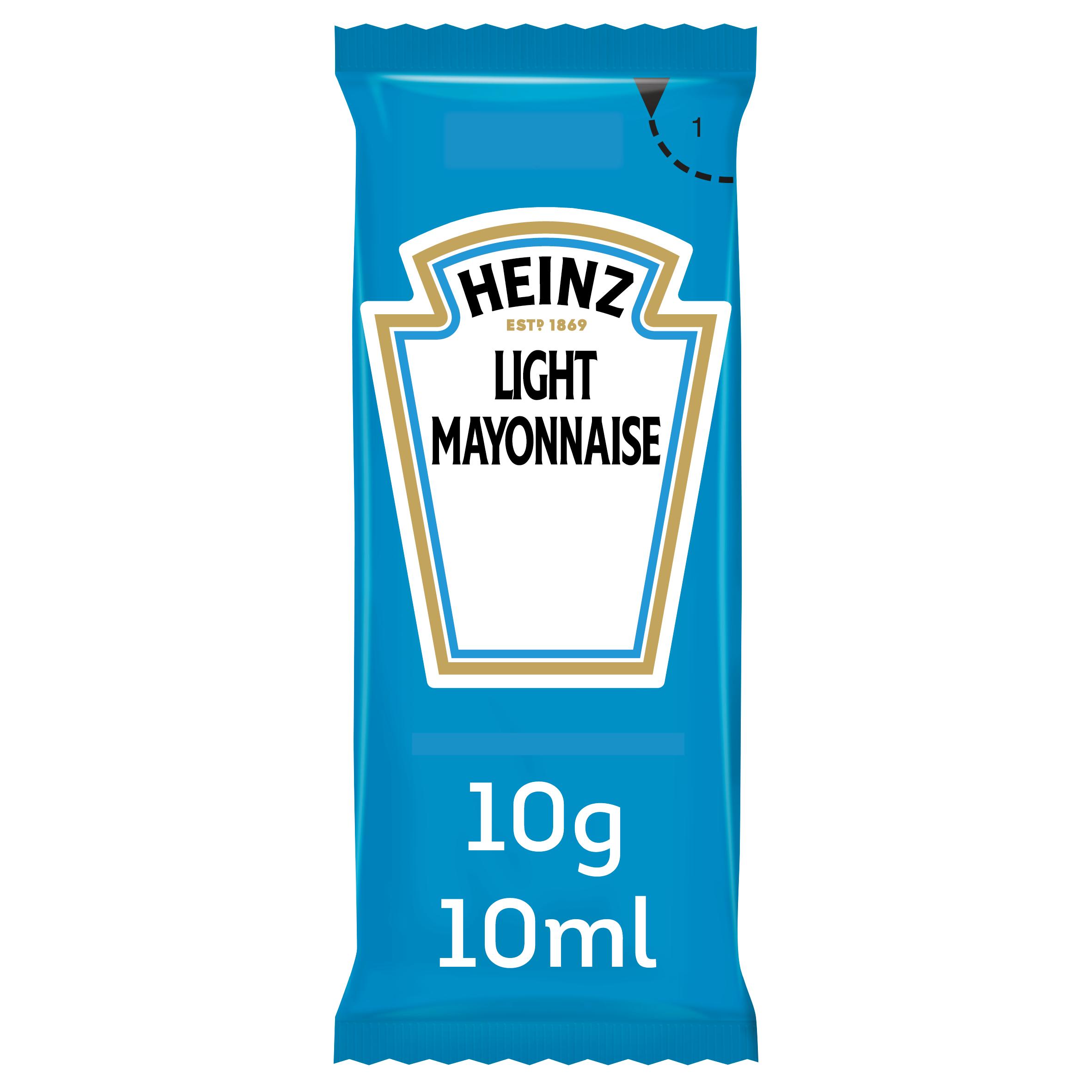 Heinz Mayonnaise Light 10ml Sachet image