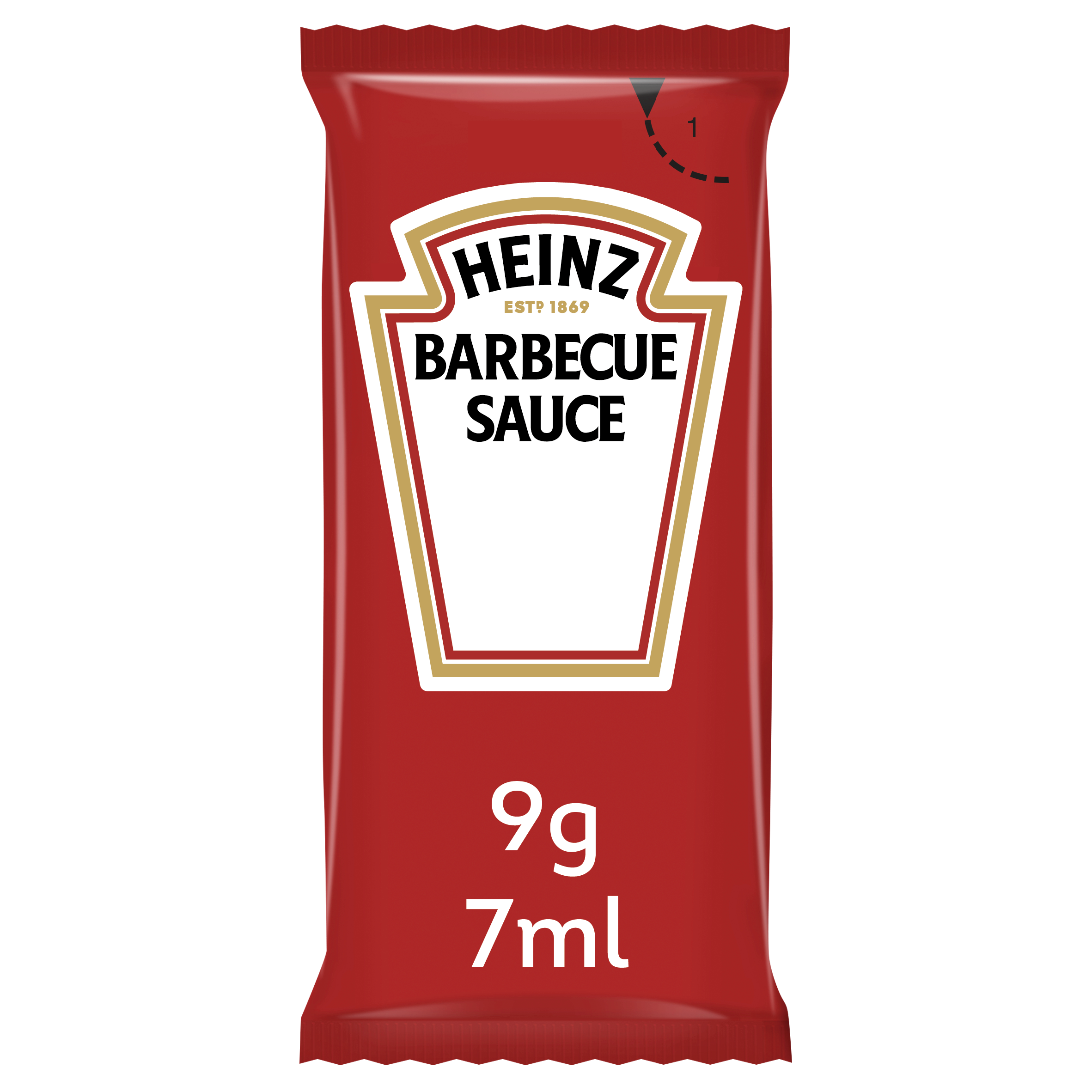 Heinz Barbecue Sauce 7ml Bustina image