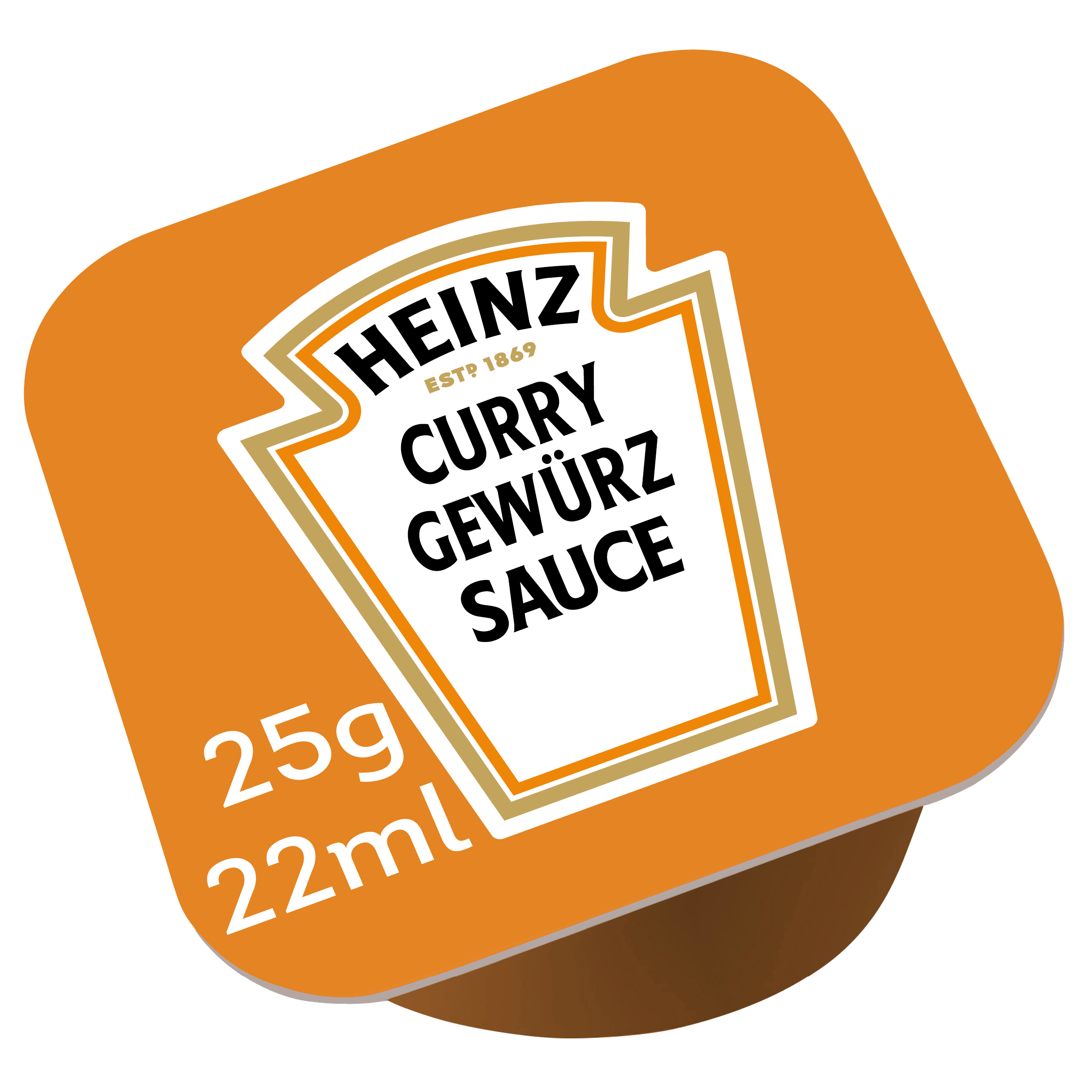 Heinz Curry Gewurz dippot 25ml image