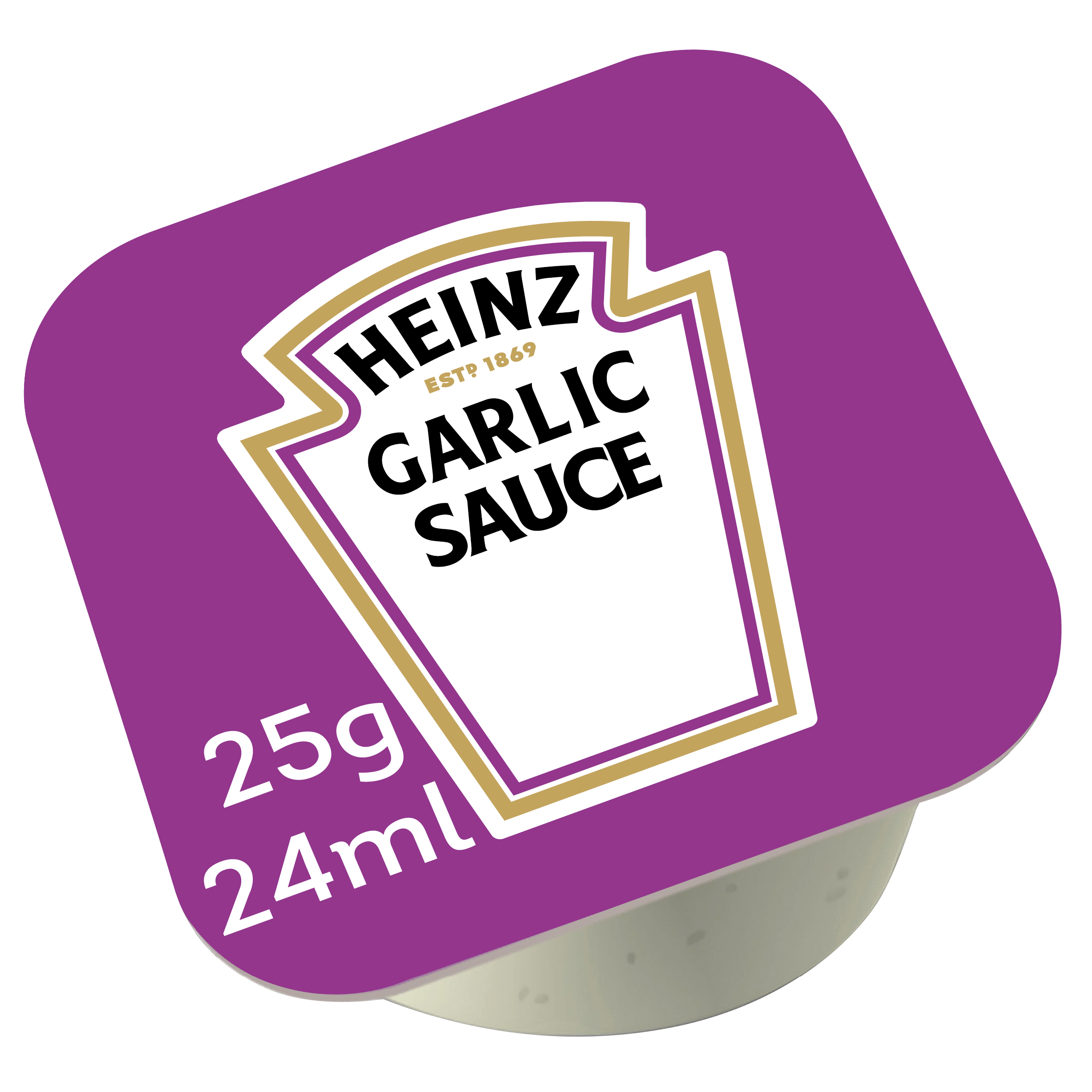Heinz knoflooksaus dippot 25ml image