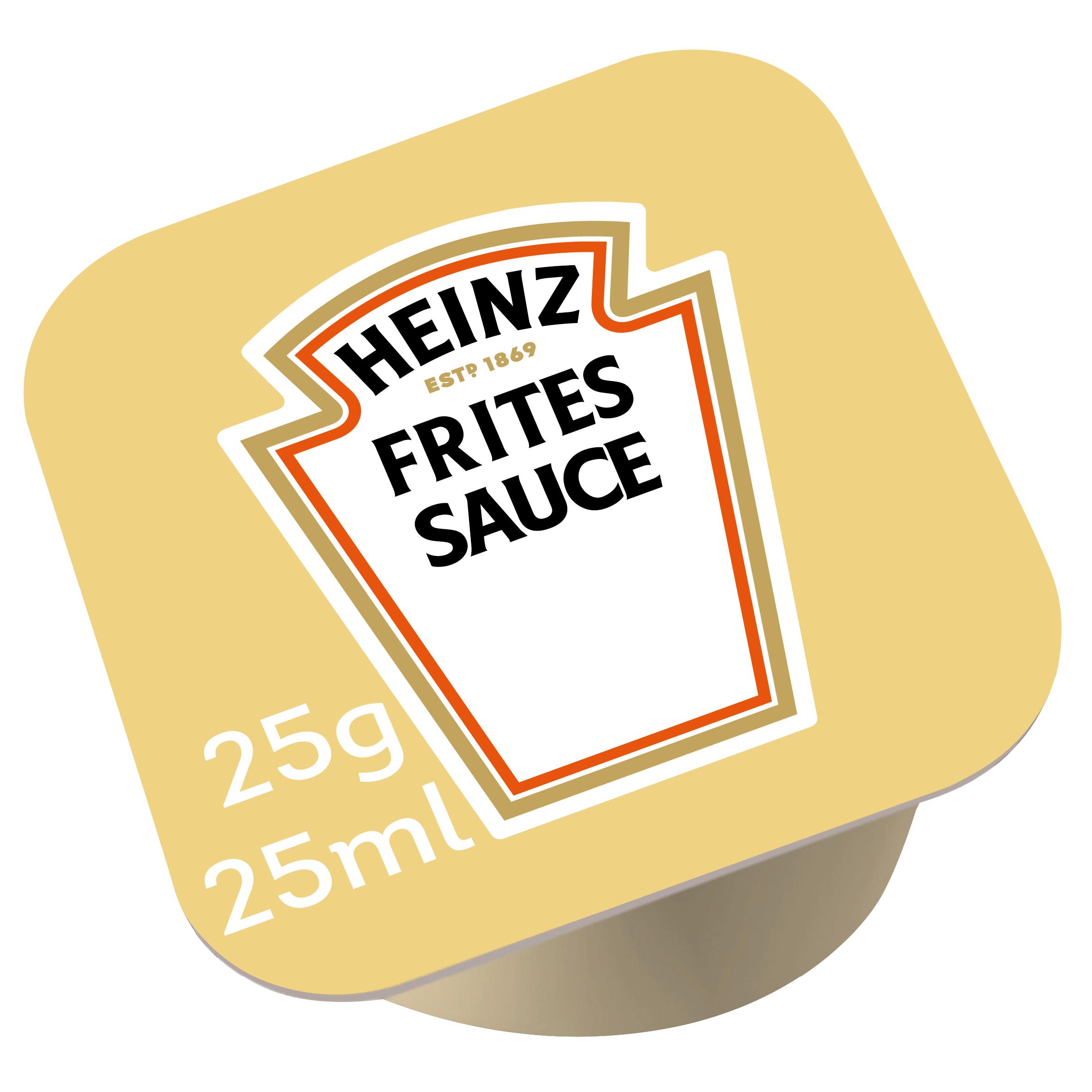 Heinz Fritessaus dippot 25ml image