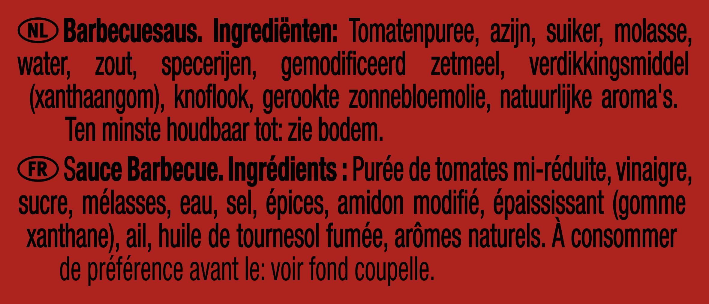 Heinz BBQ Saus dippot 25ml