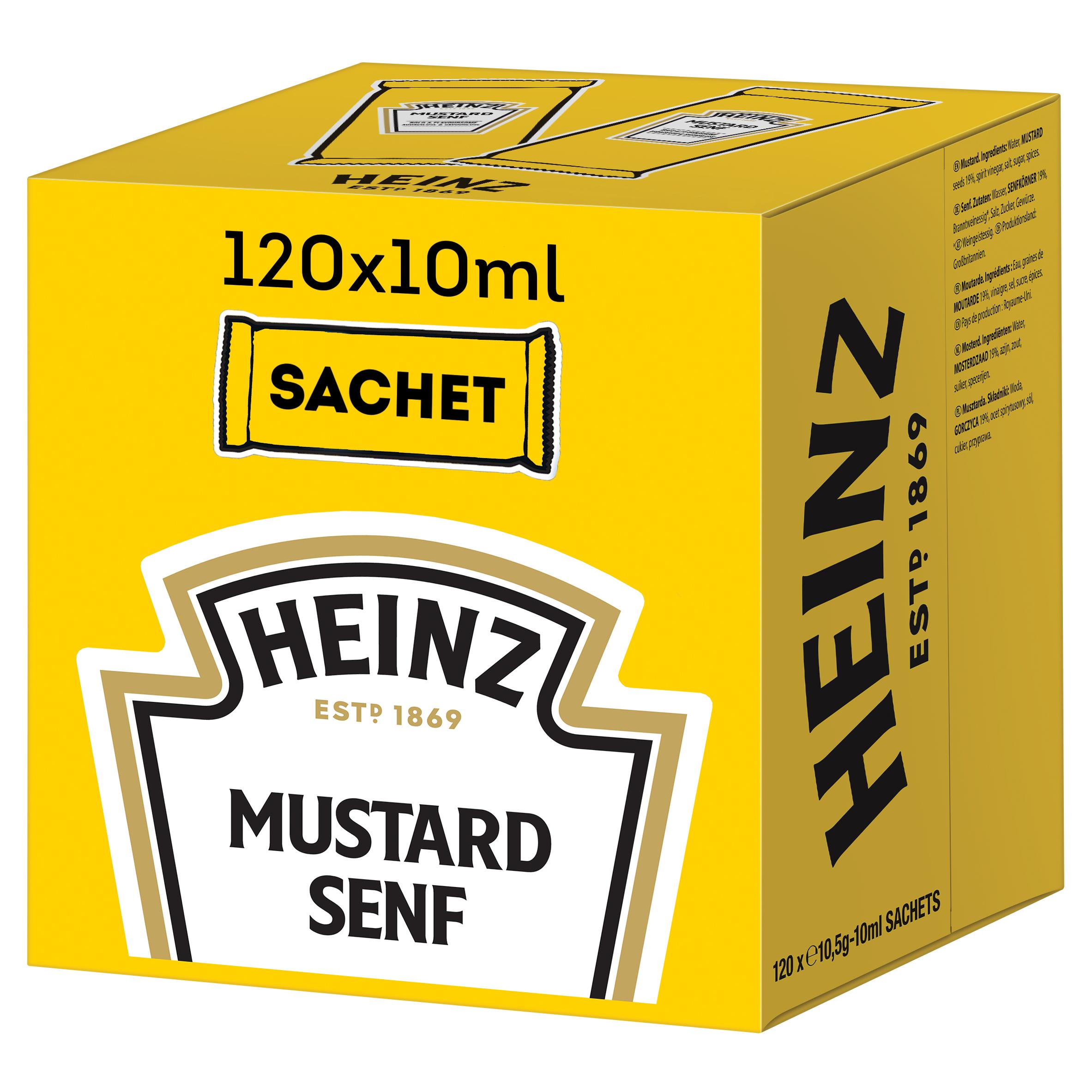 Heinz Mosterd sachets 10ml