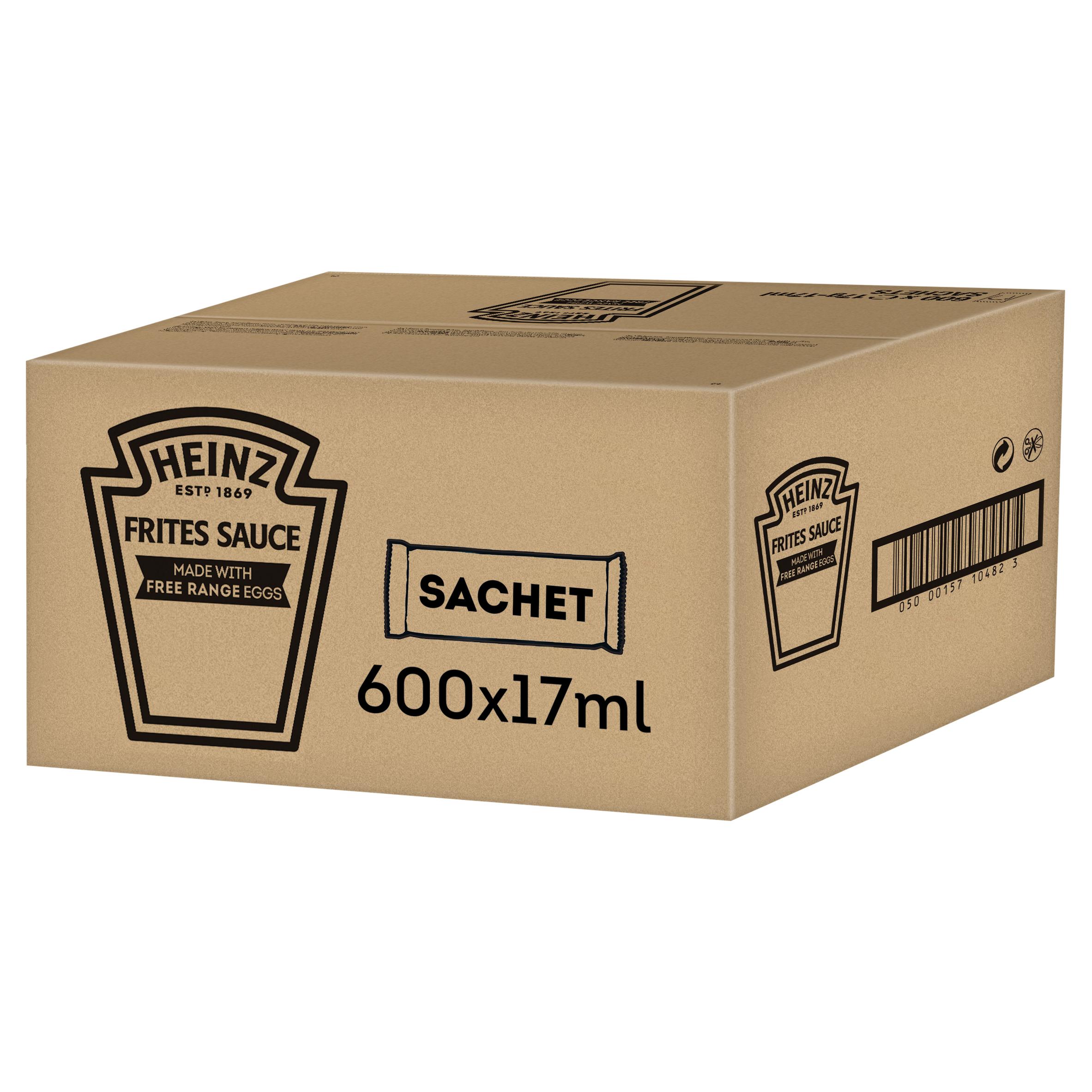 Heinz fritessaus sachet 17ml