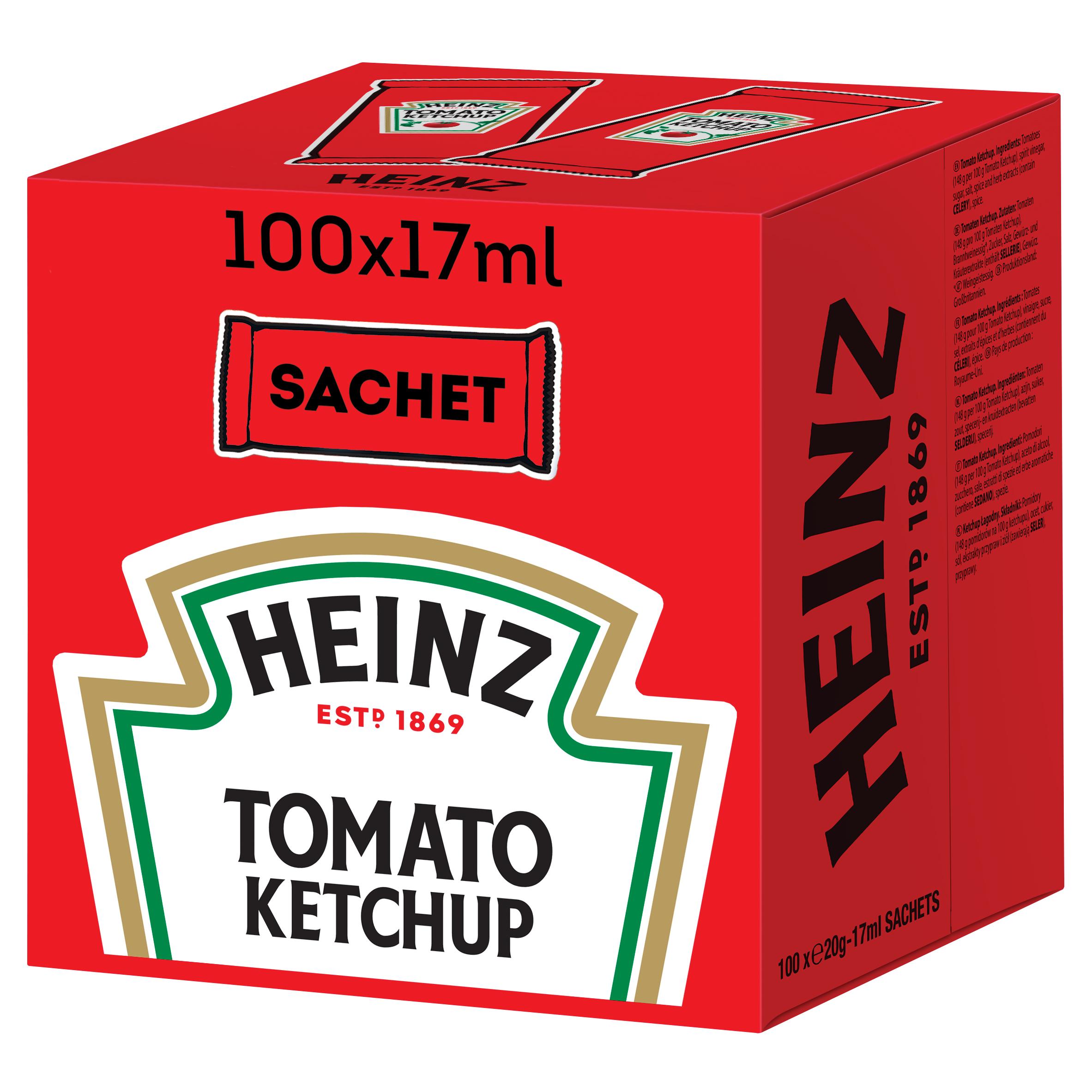 Heinz Tomato Ketchup sachet 17ml