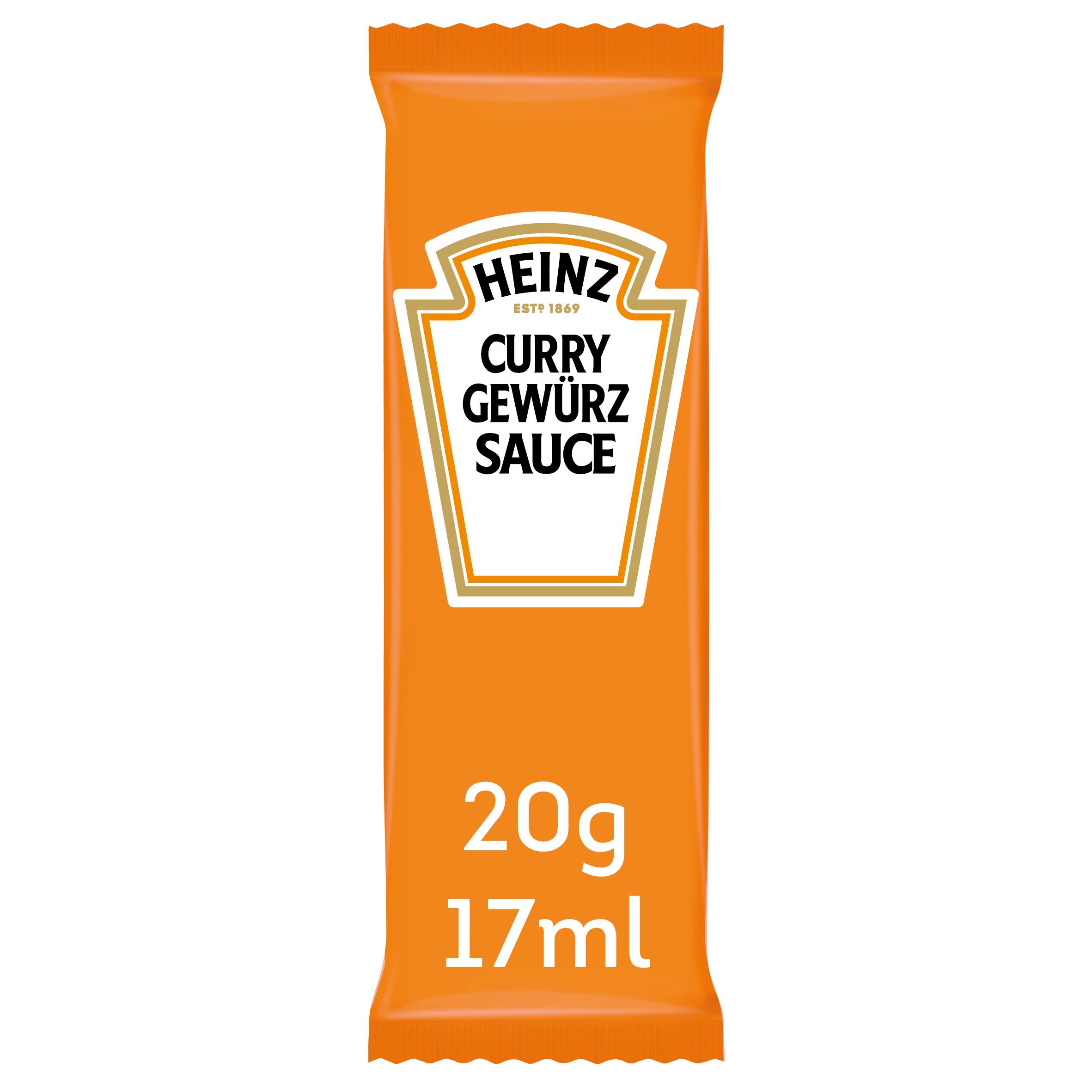 Heinz Curry Gewurz sachet 17ml image