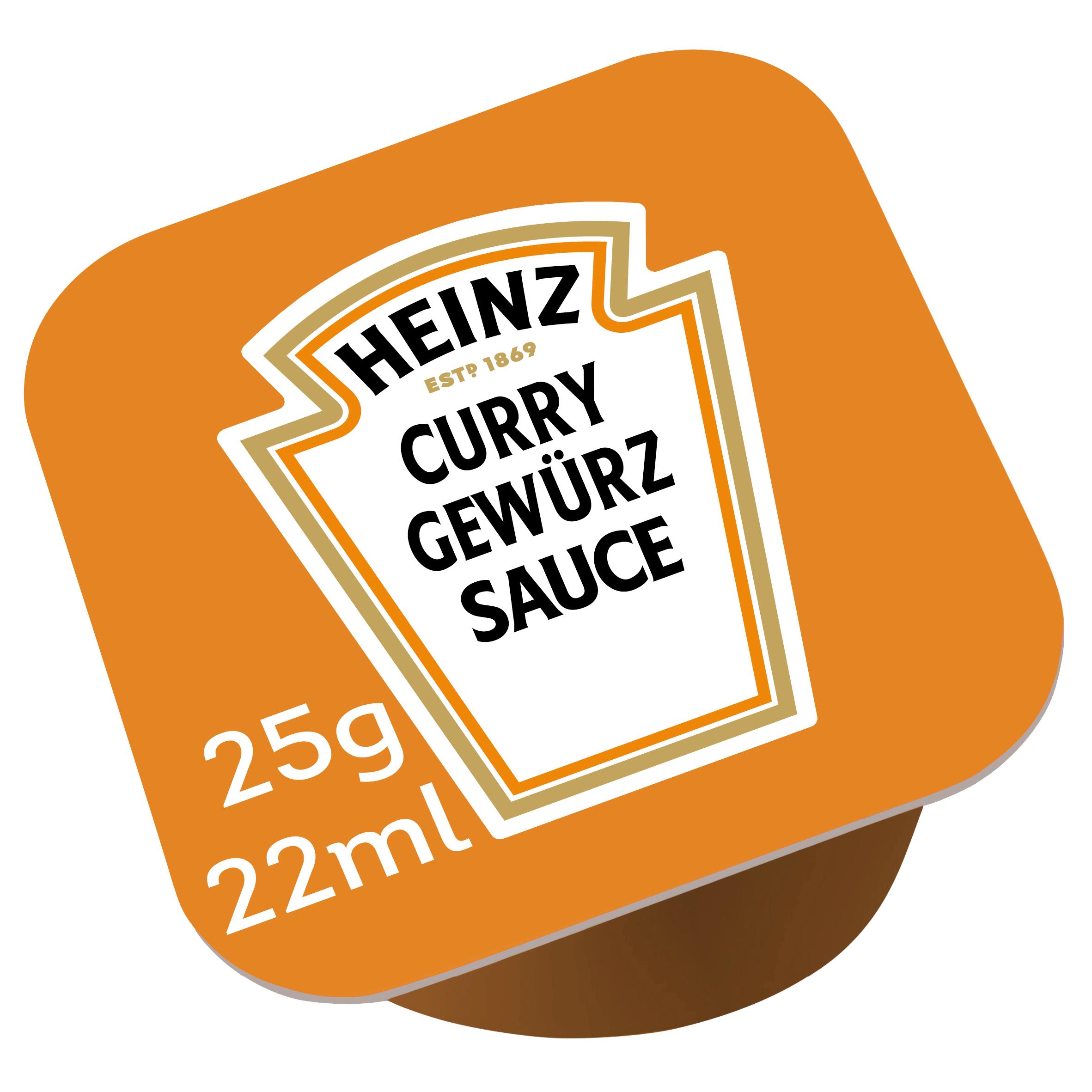 Heinz Curry Gewurz 25ml dippot image